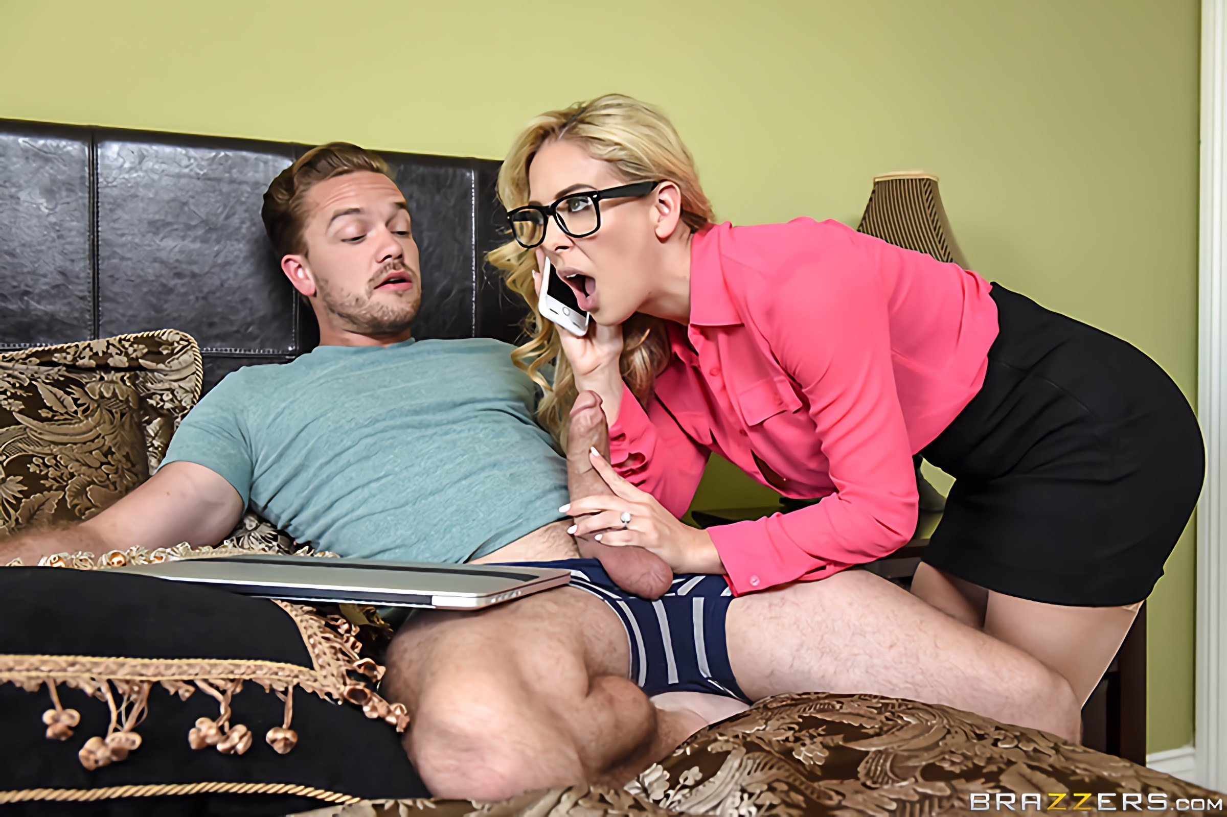 Brazzers 'Moms Got A Meeting' starring Cherie Deville (photo 1)