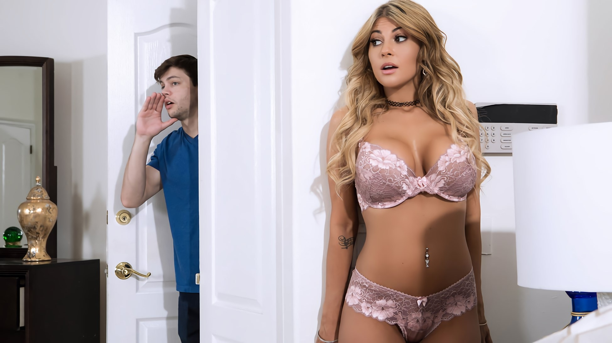 Brazzers 'Sister Swap: Part 1' starring Kayla Kayden (photo 6)