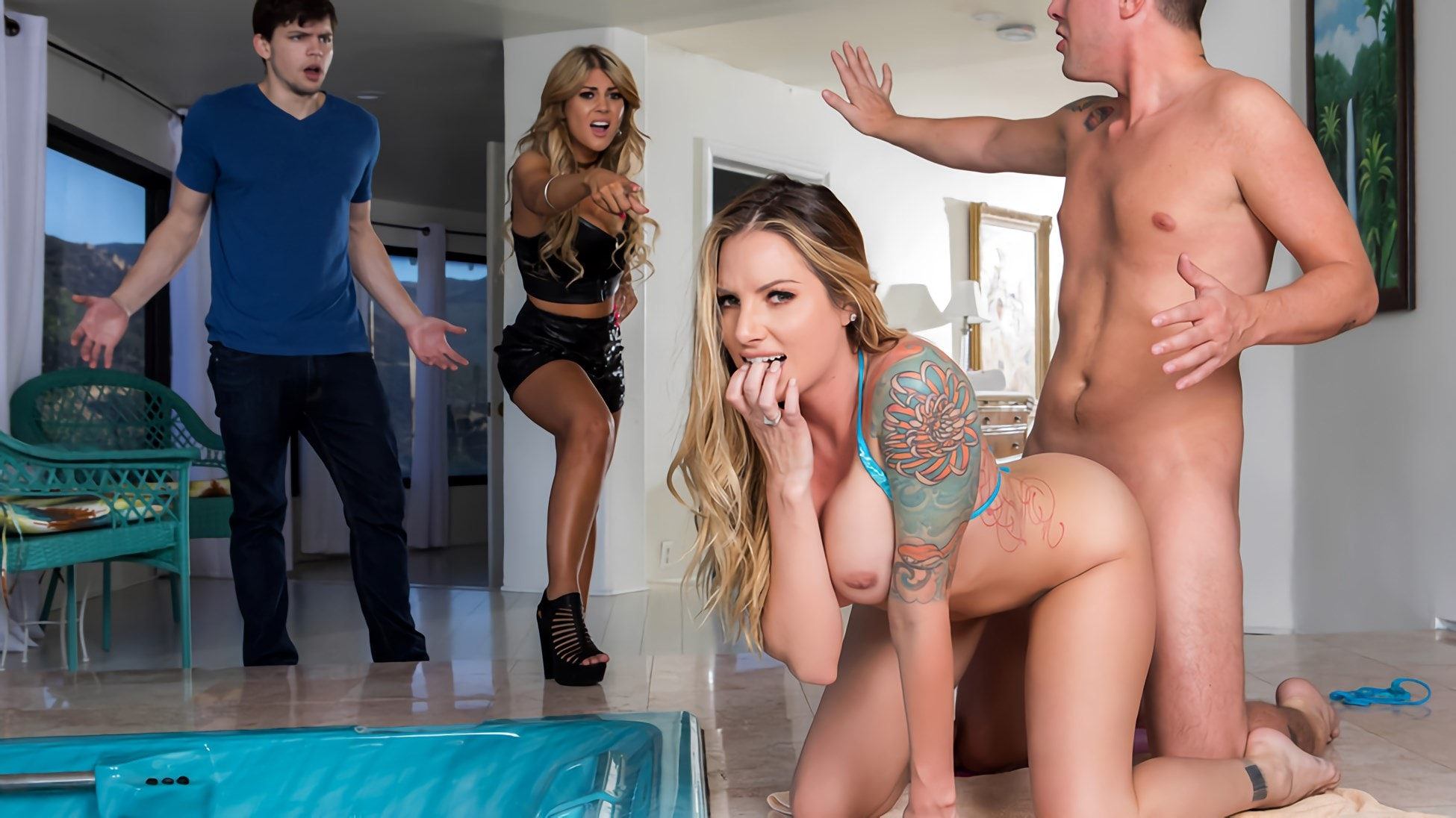 Brazzers 'Sister Swap: Part 2' starring Teagan Presley (photo 6)
