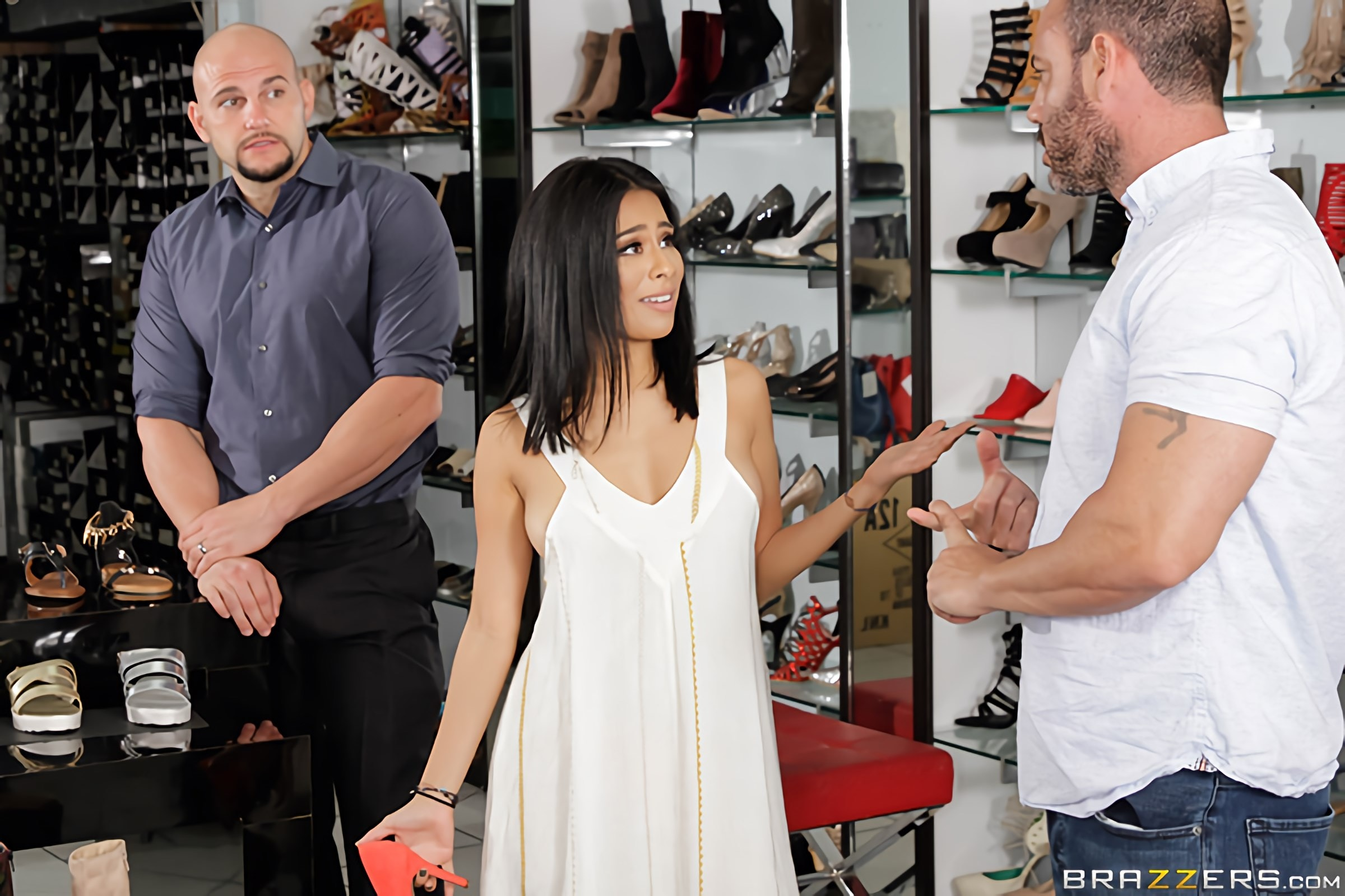 Brazzers 'If The Shoe Fits' starring Monica Asis (photo 1)