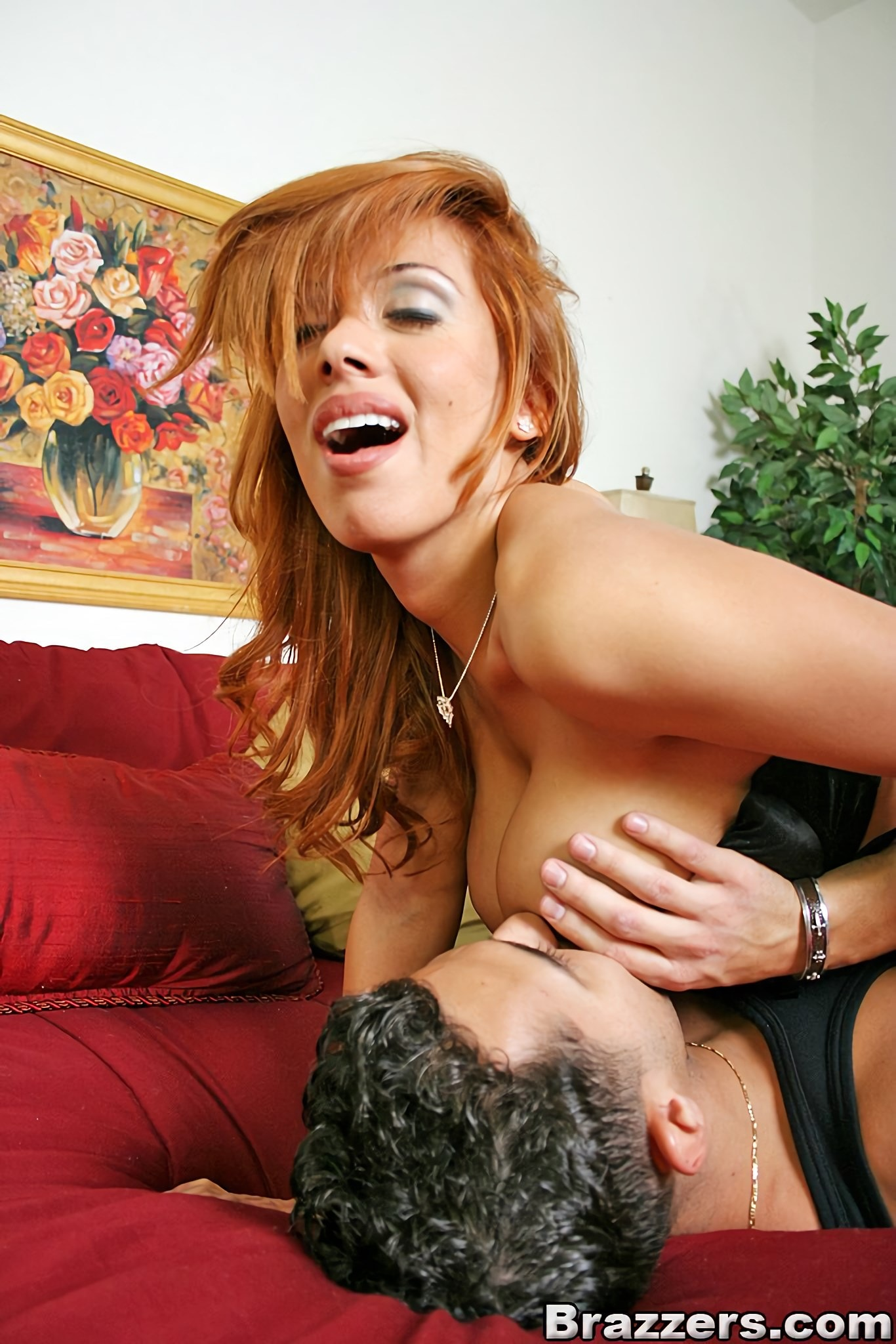Hot latina fucking in country house