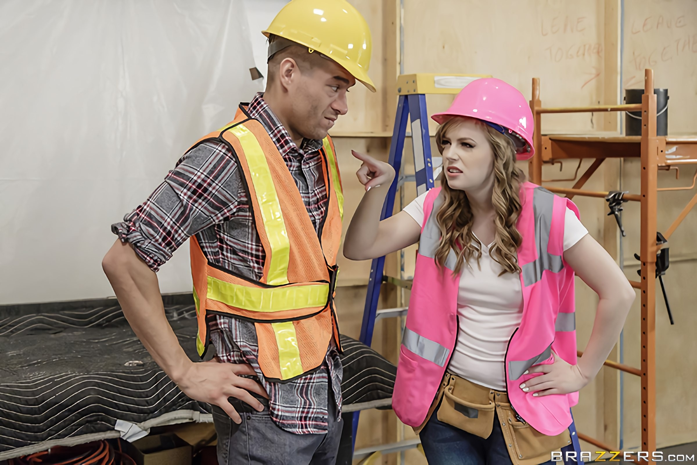 Brazzers 'The Foreman Is A Whore, Man' starring Dolly Leigh (photo 1)