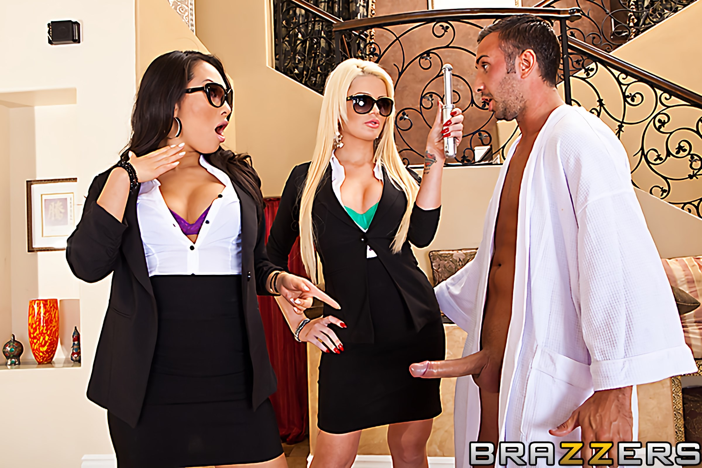 Brazzers 'Babes in Black 2' starring Asa Akira (photo 5)