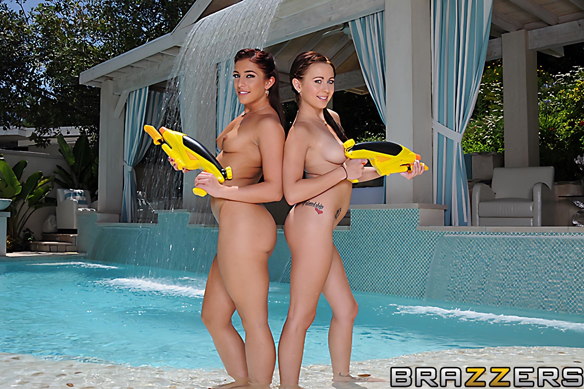 Brazzers '2 Cool for the Pool' starring Mischa Brooks (photo 5)