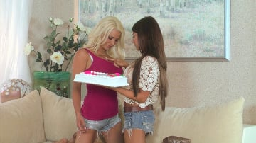 Madison Ivy - Hot and Mean Presents Twistys Eating The Best Cake