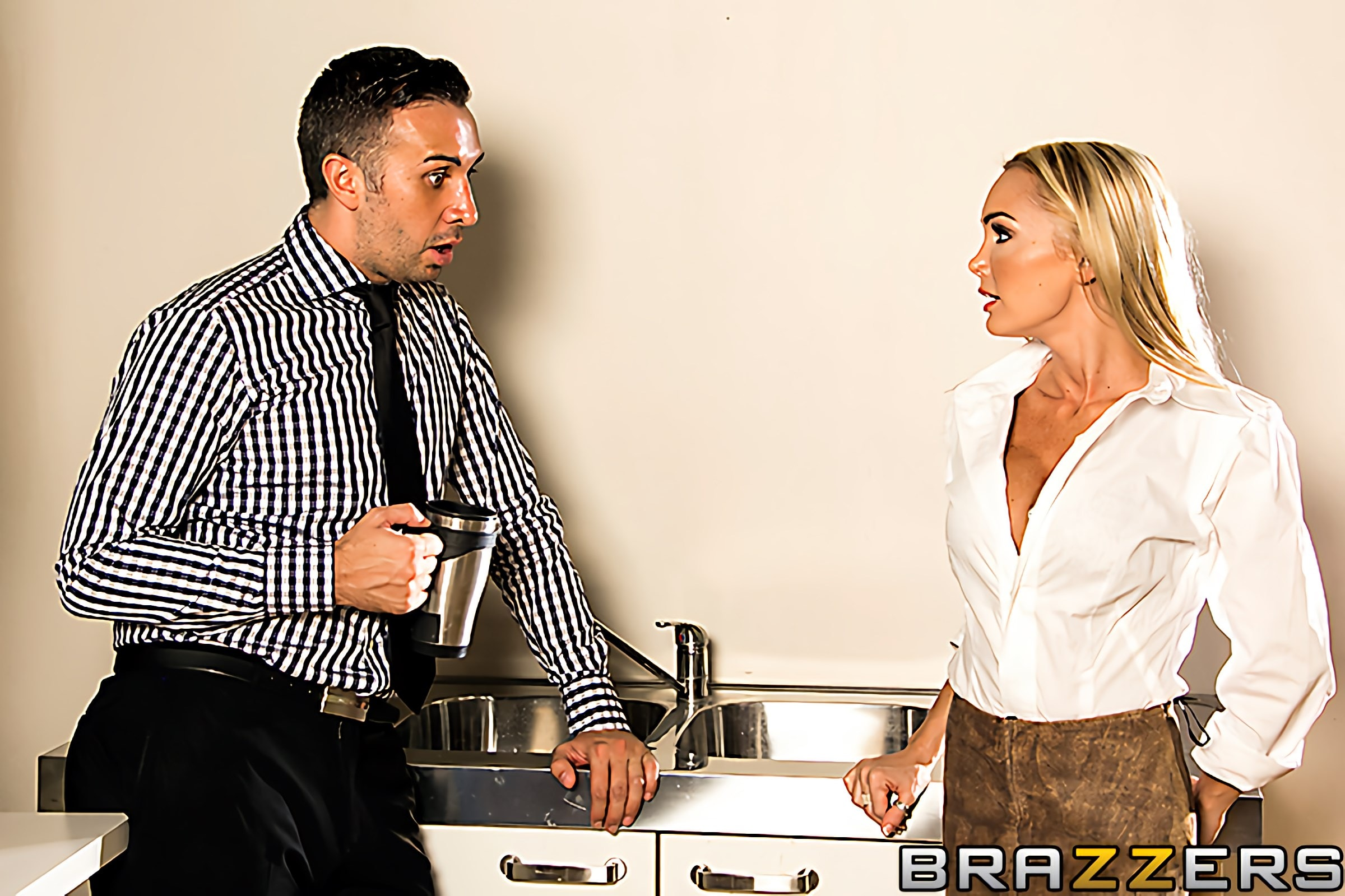 Brazzers 'My Co-Worker is a Horny Stripper' starring Devon (photo 1)