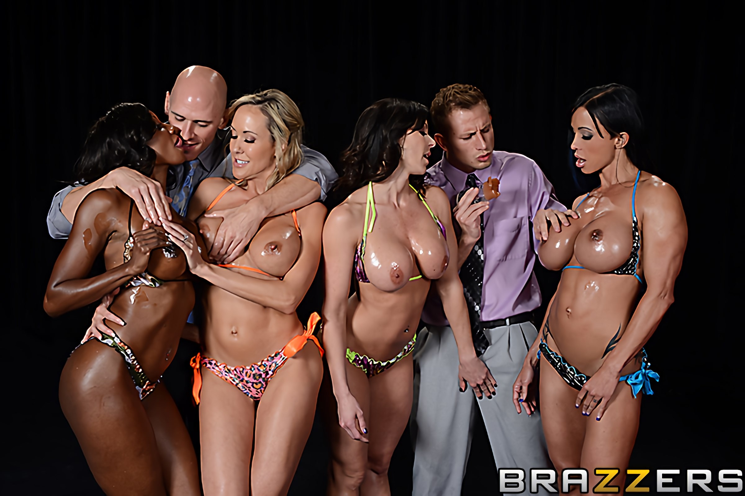 Brazzers 'Miss Titness America' starring Diamond Jackson (photo 1)