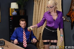 Leya Falcon - Defiance in the Office (Thumb 02)