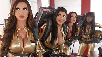 Nikki Benz - Ghostbusters XXX Parody - Part 4