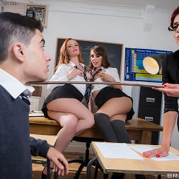 Ella Hughes in 'Brazzers' Lets Welcome The New Student (Thumbnail 1)