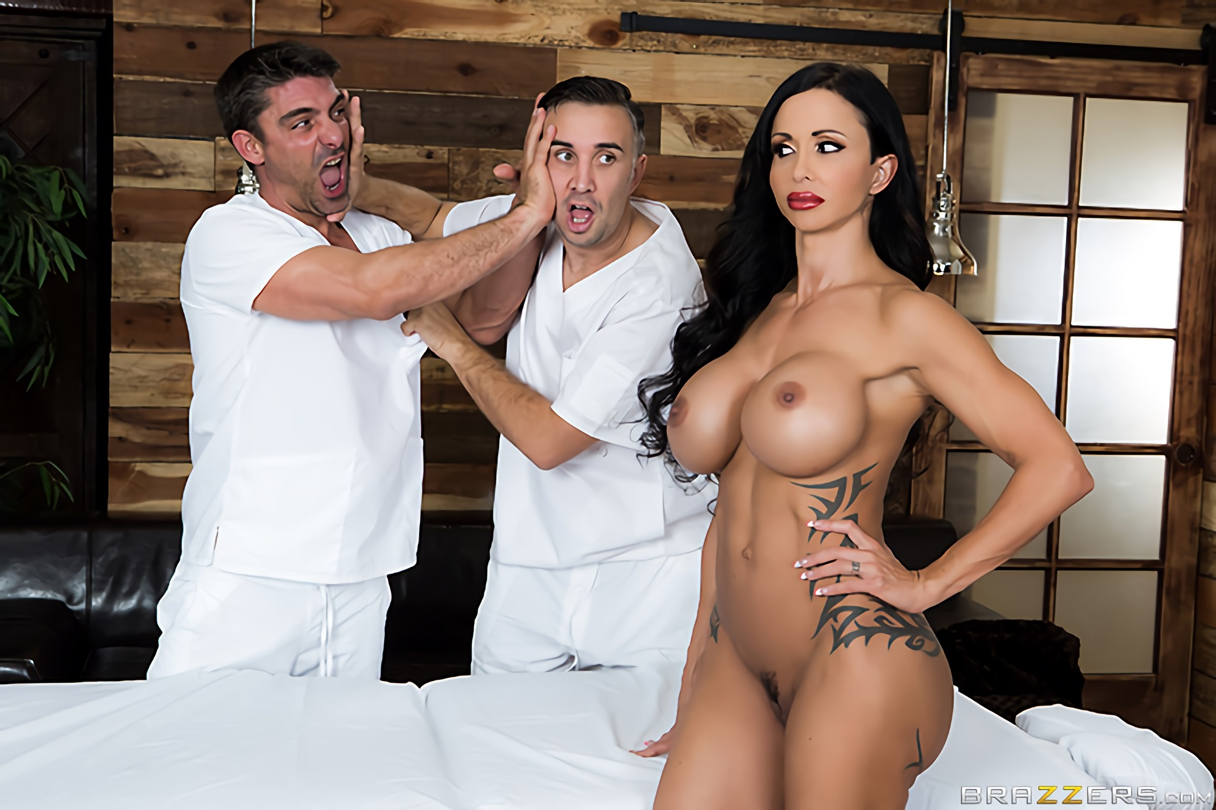 Brazzers 'My Two Fuck Boys' starring Jewels Jade (Photo 1)