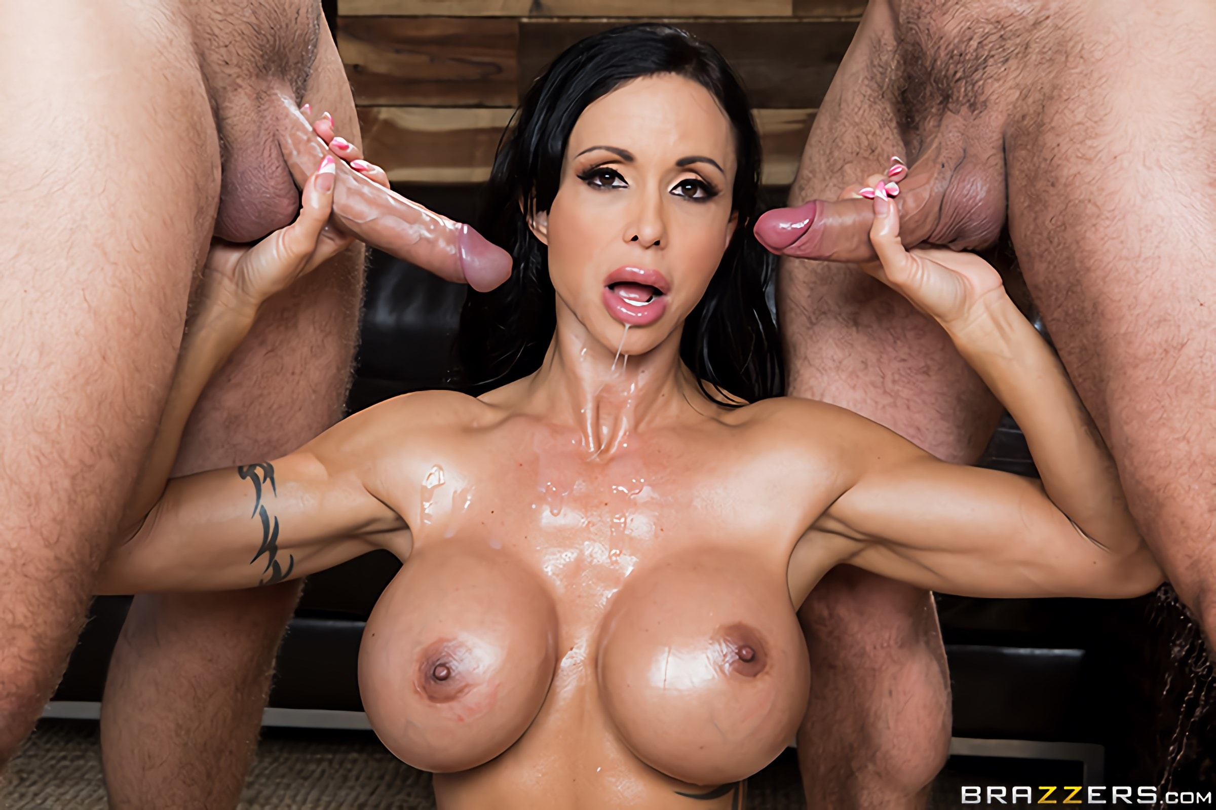 Brazzers 'My Two Fuck Boys' starring Jewels Jade (Photo 11)