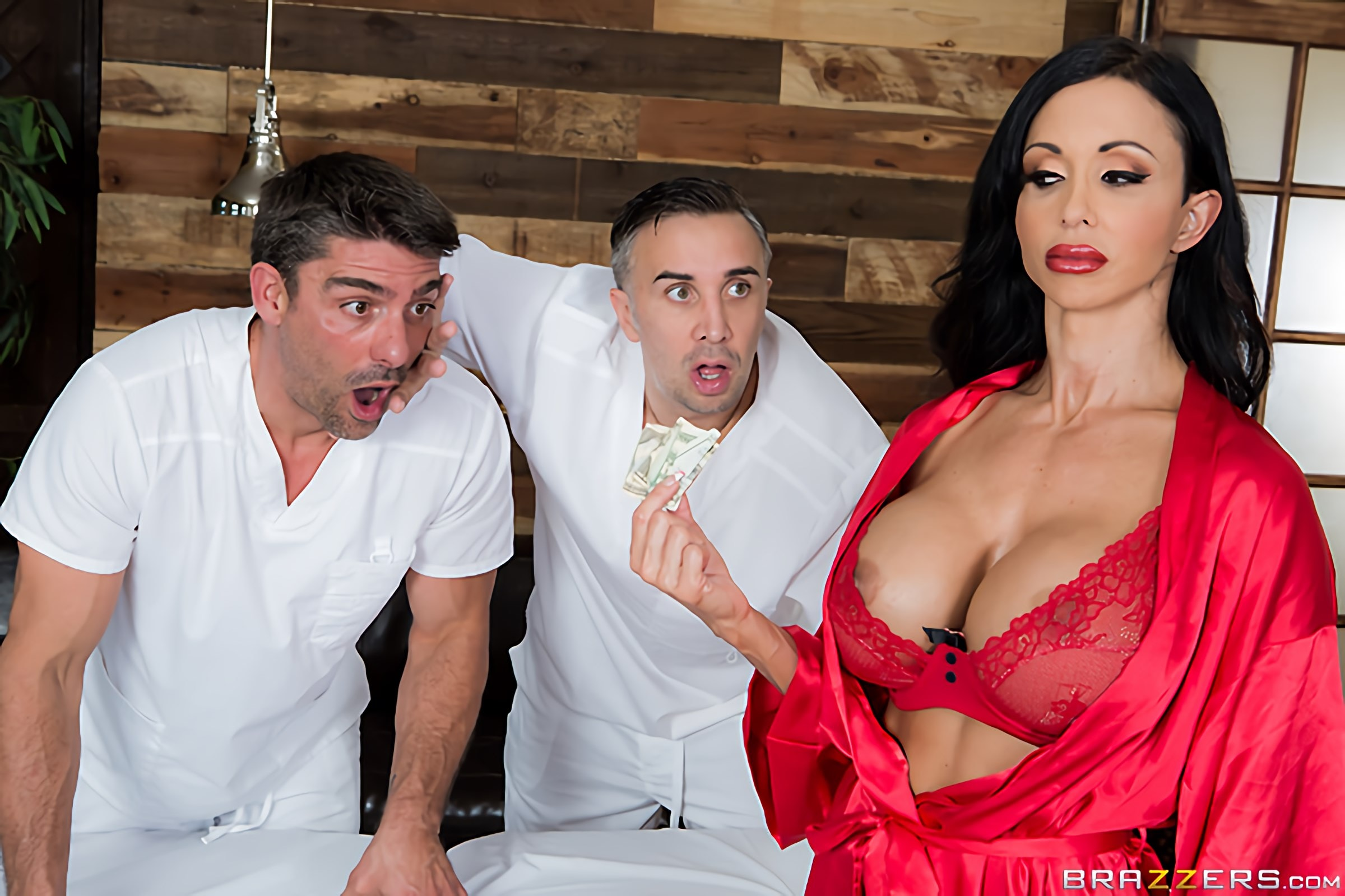 Brazzers 'My Two Fuck Boys' starring Jewels Jade (Photo 12)