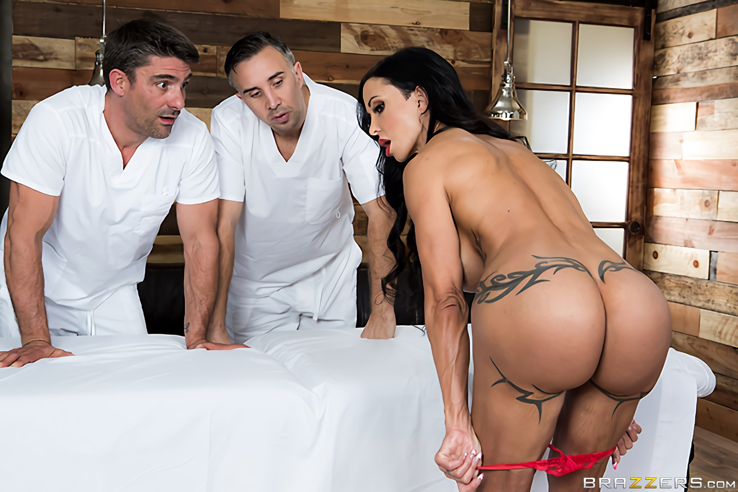Brazzers 'My Two Fuck Boys' starring Jewels Jade (Photo 13)