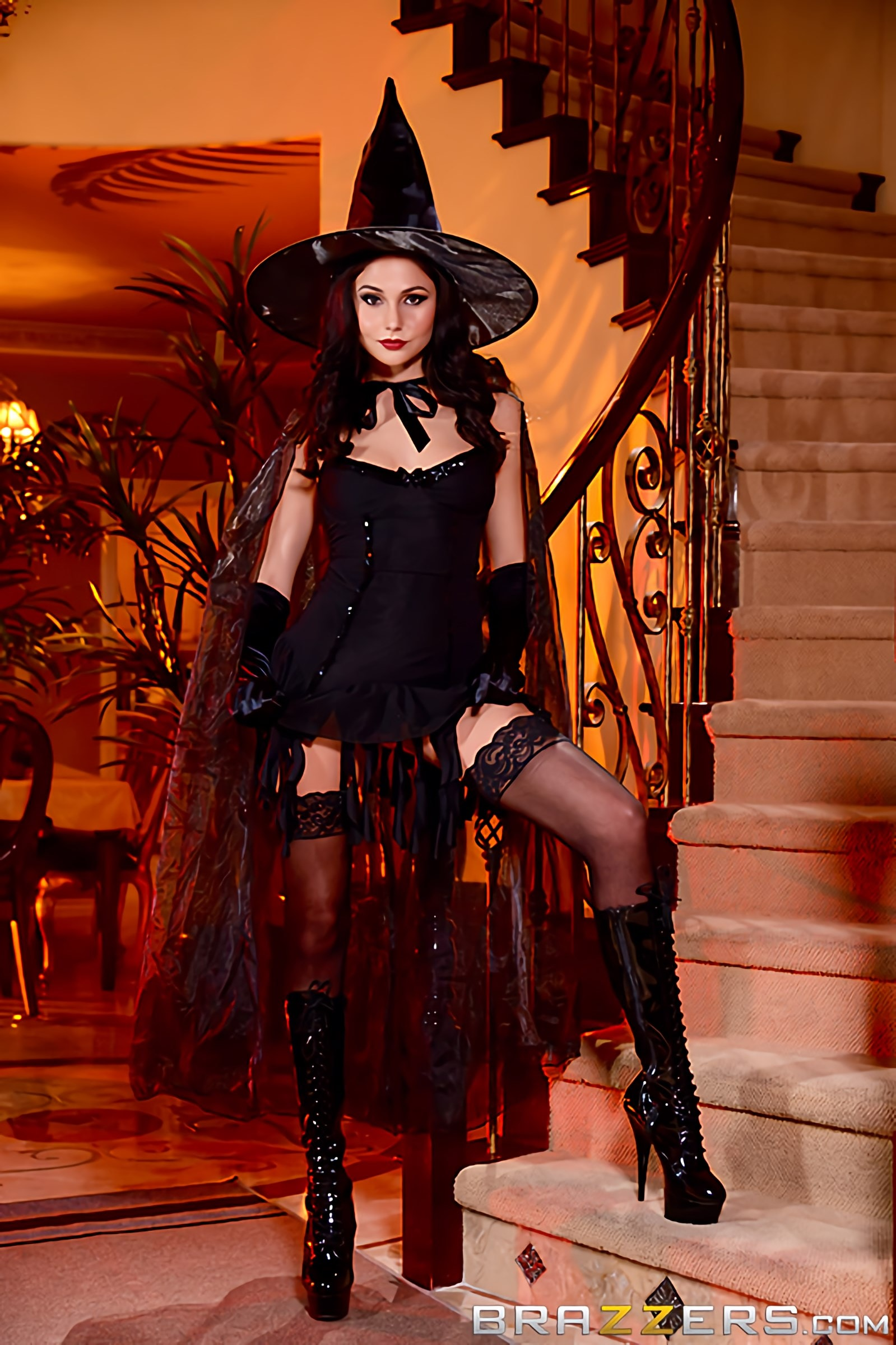 Brazzers 'Dick Or Treat' starring Ariana Marie (Photo 8)