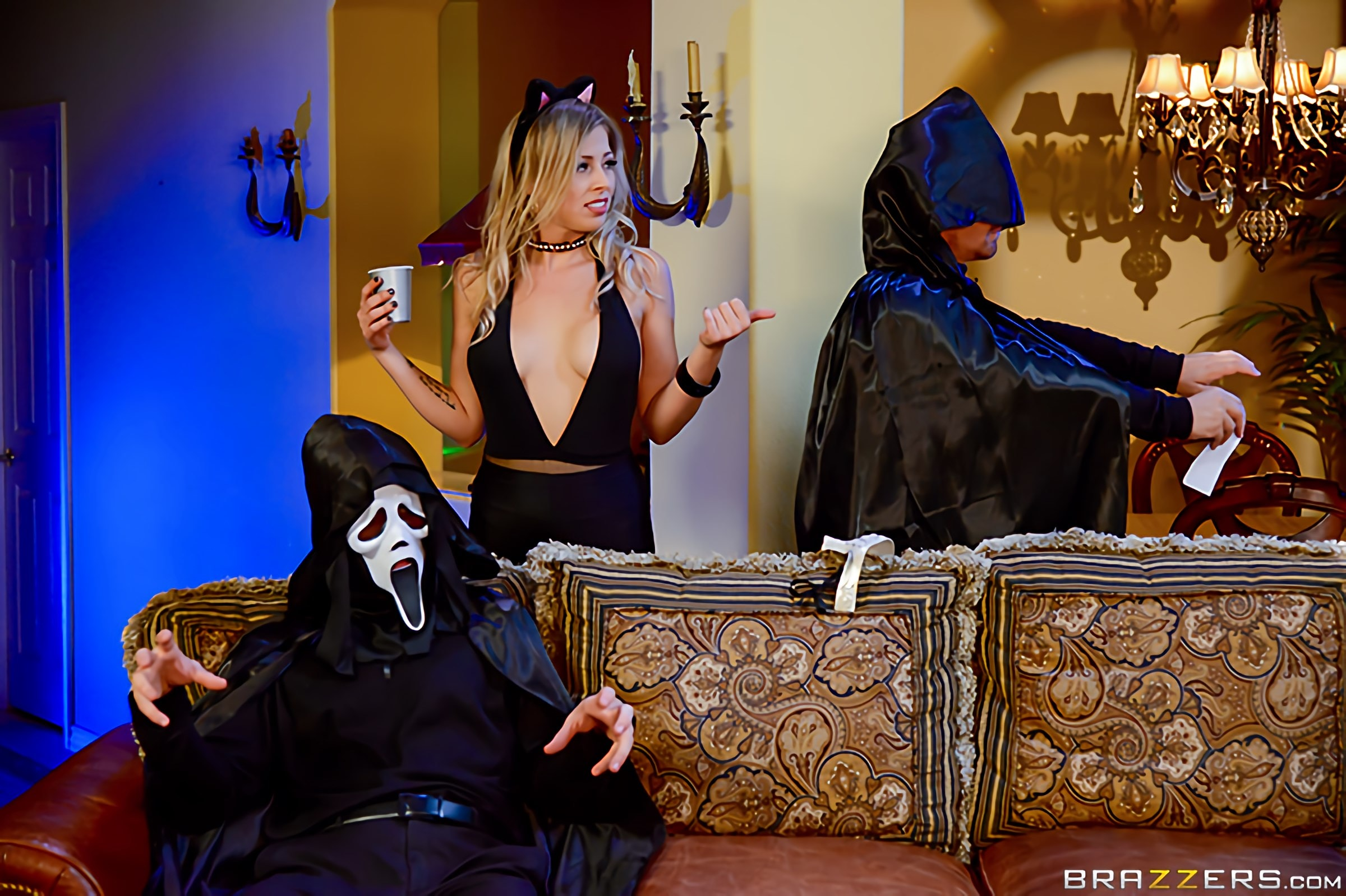 Brazzers 'Trick And Treat' starring Zoey Monroe (Photo 14)