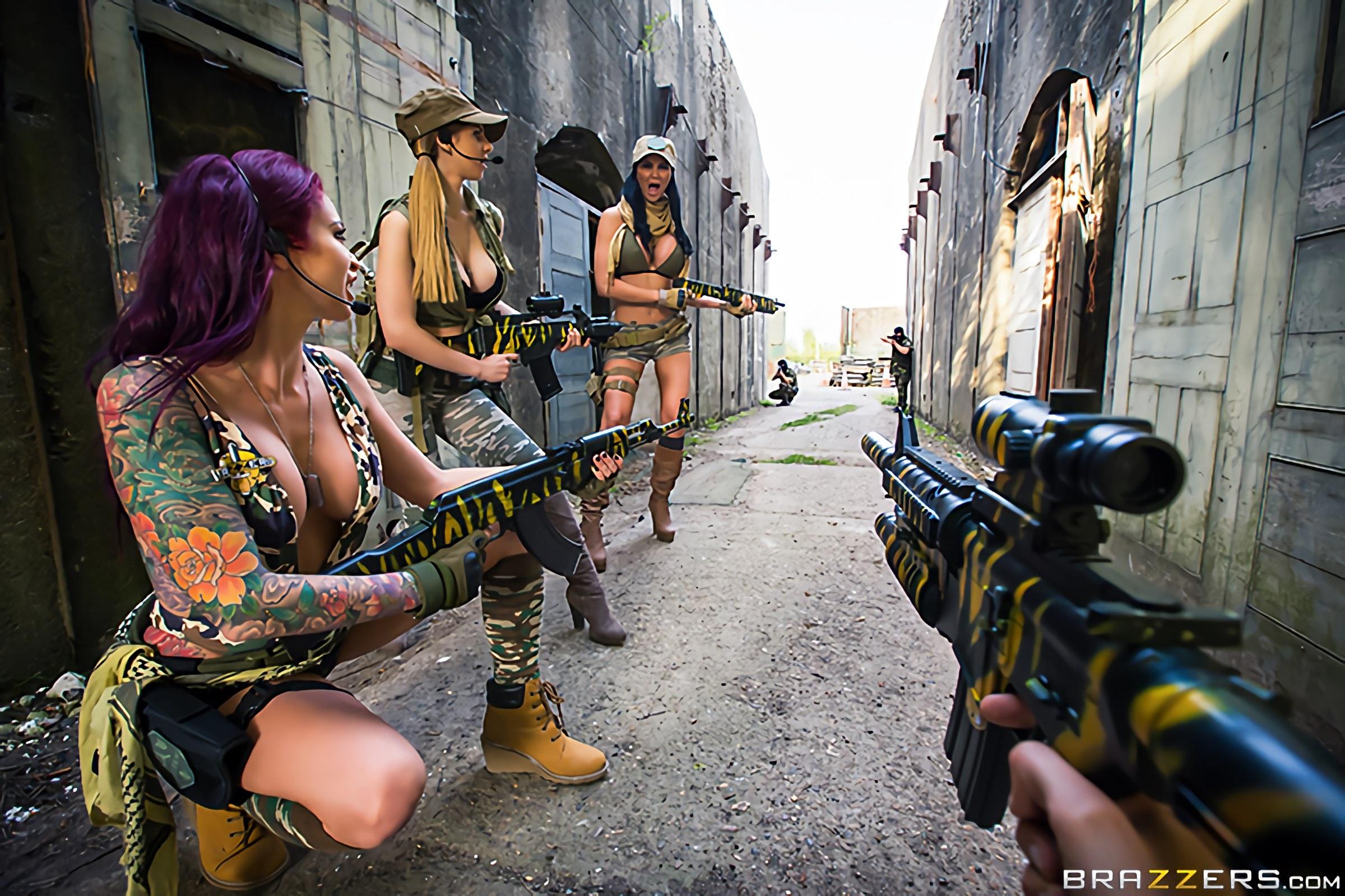 Brazzers 'Cock Of Duty- A XXX Parody' starring Monique Alexander (Photo 1)