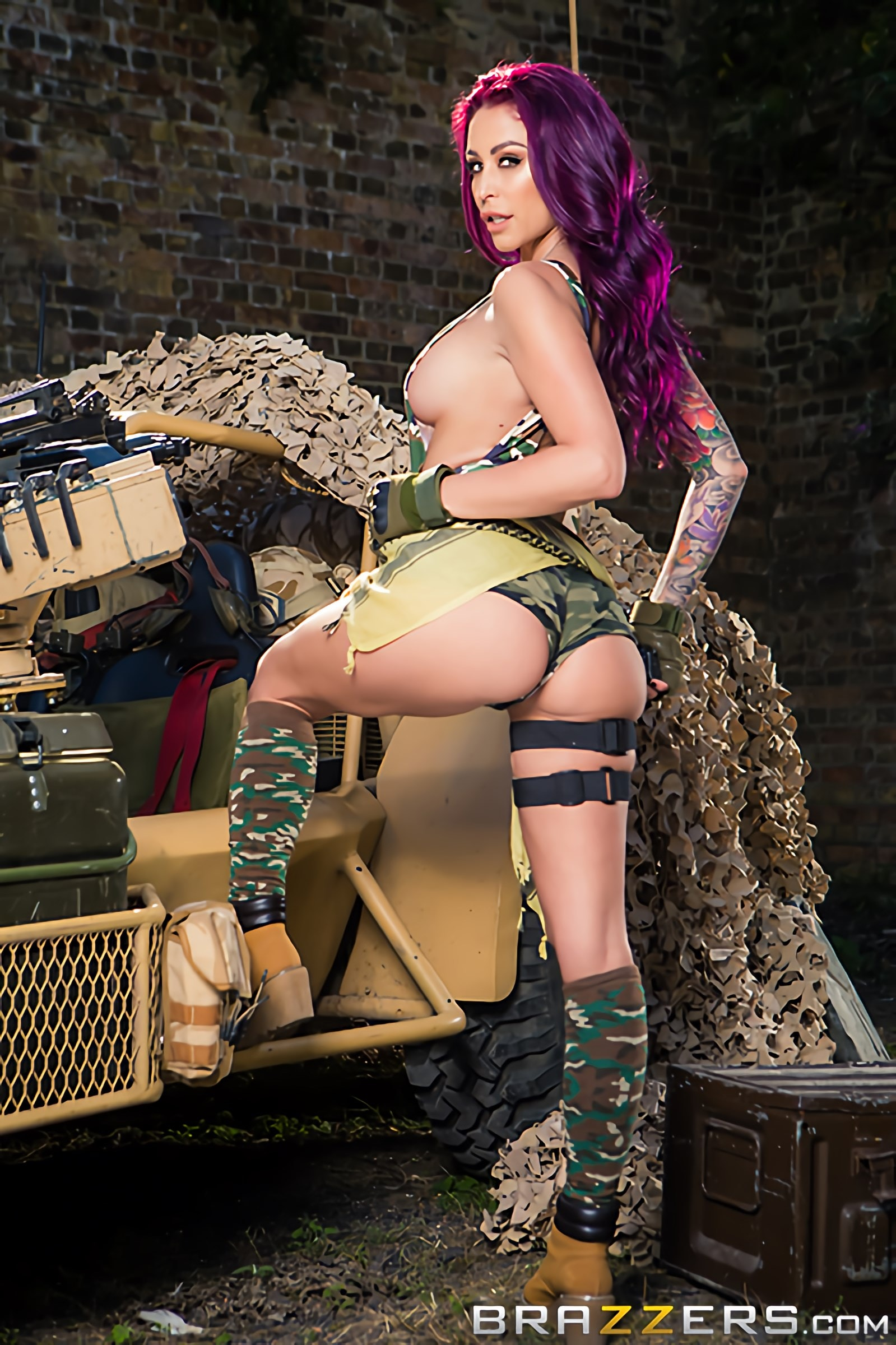 Brazzers 'Cock Of Duty- A XXX Parody' starring Monique Alexander (Photo 9)