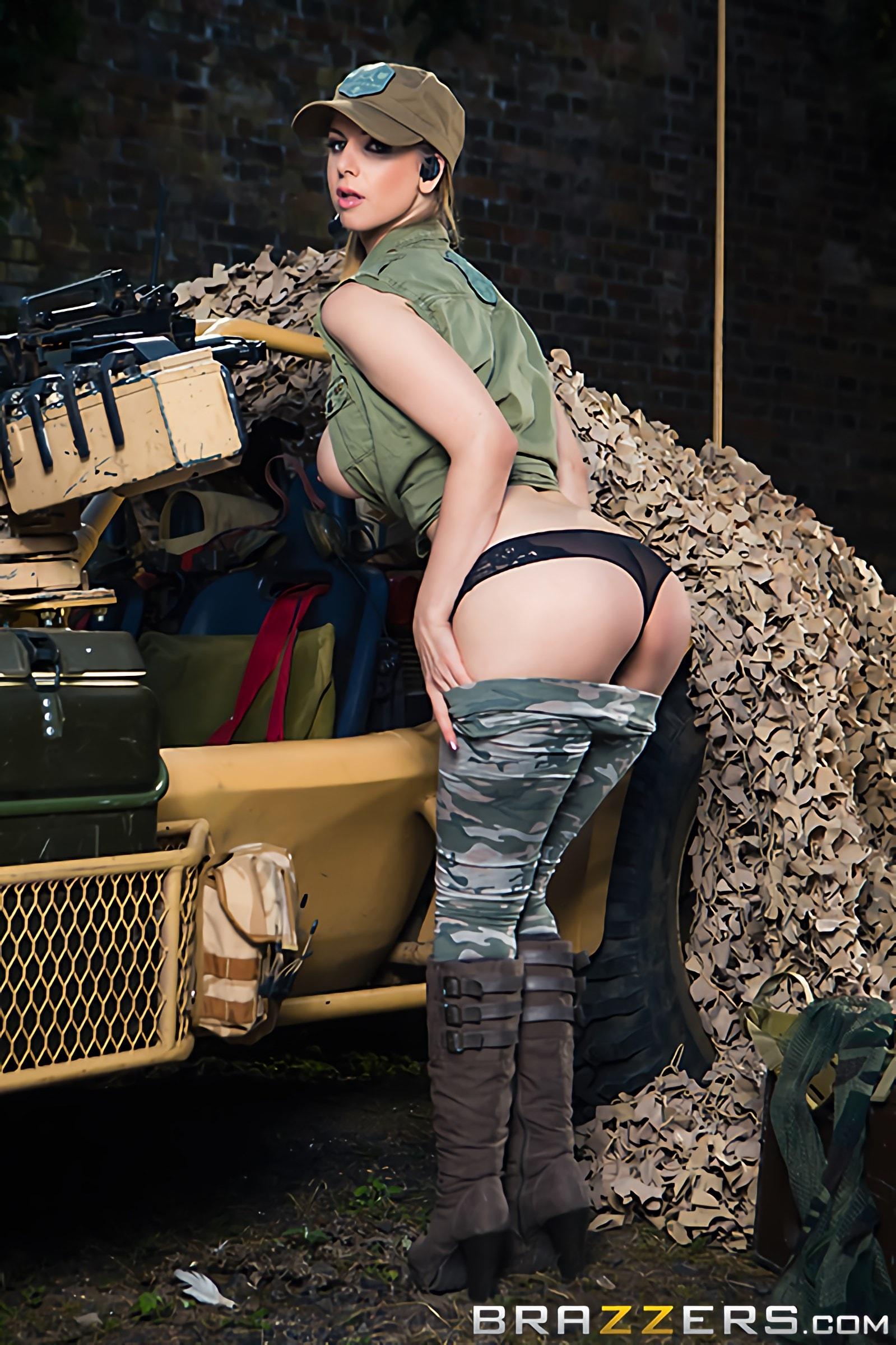 Brazzers 'Cock Of Duty- A XXX Parody' starring Monique Alexander (Photo 11)