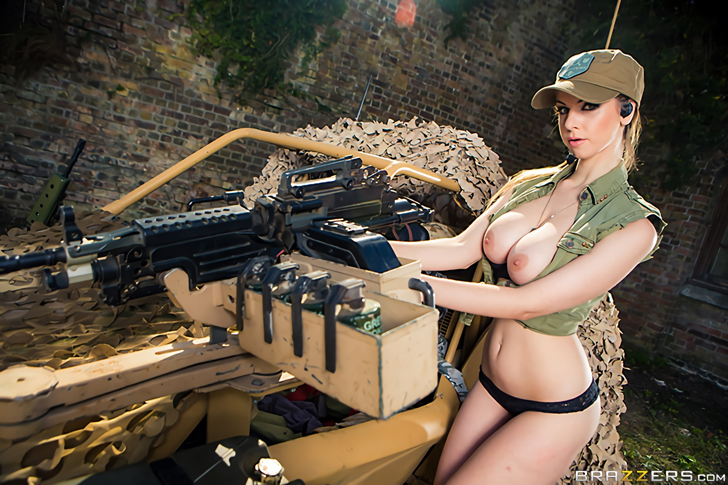 Brazzers 'Cock Of Duty- A XXX Parody' starring Monique Alexander (Photo 12)