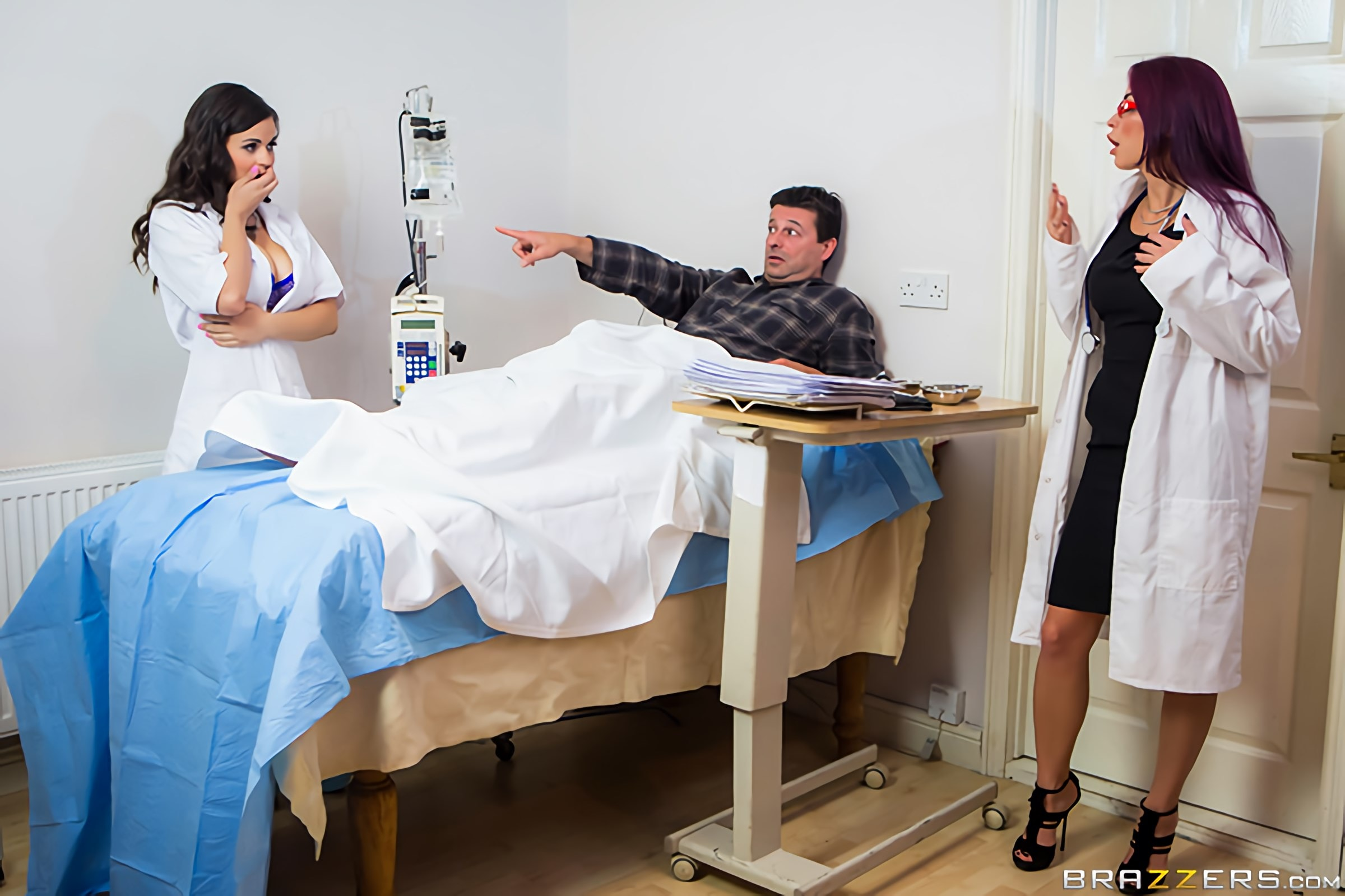 Brazzers 'Going HAM On The Nurse' starring Monique Alexander (Photo 1)
