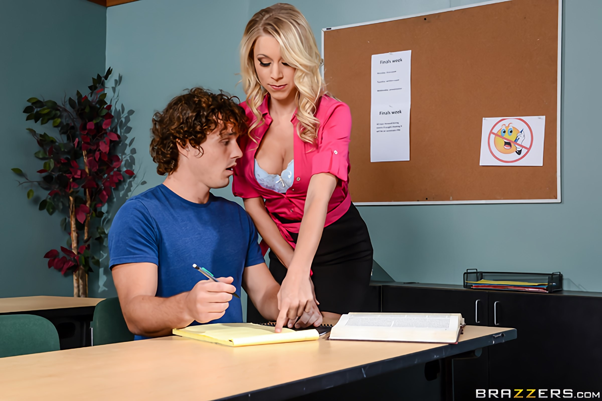 Brazzers 'Teacher Takes Advantage' starring Katie Morgan (Photo 10)