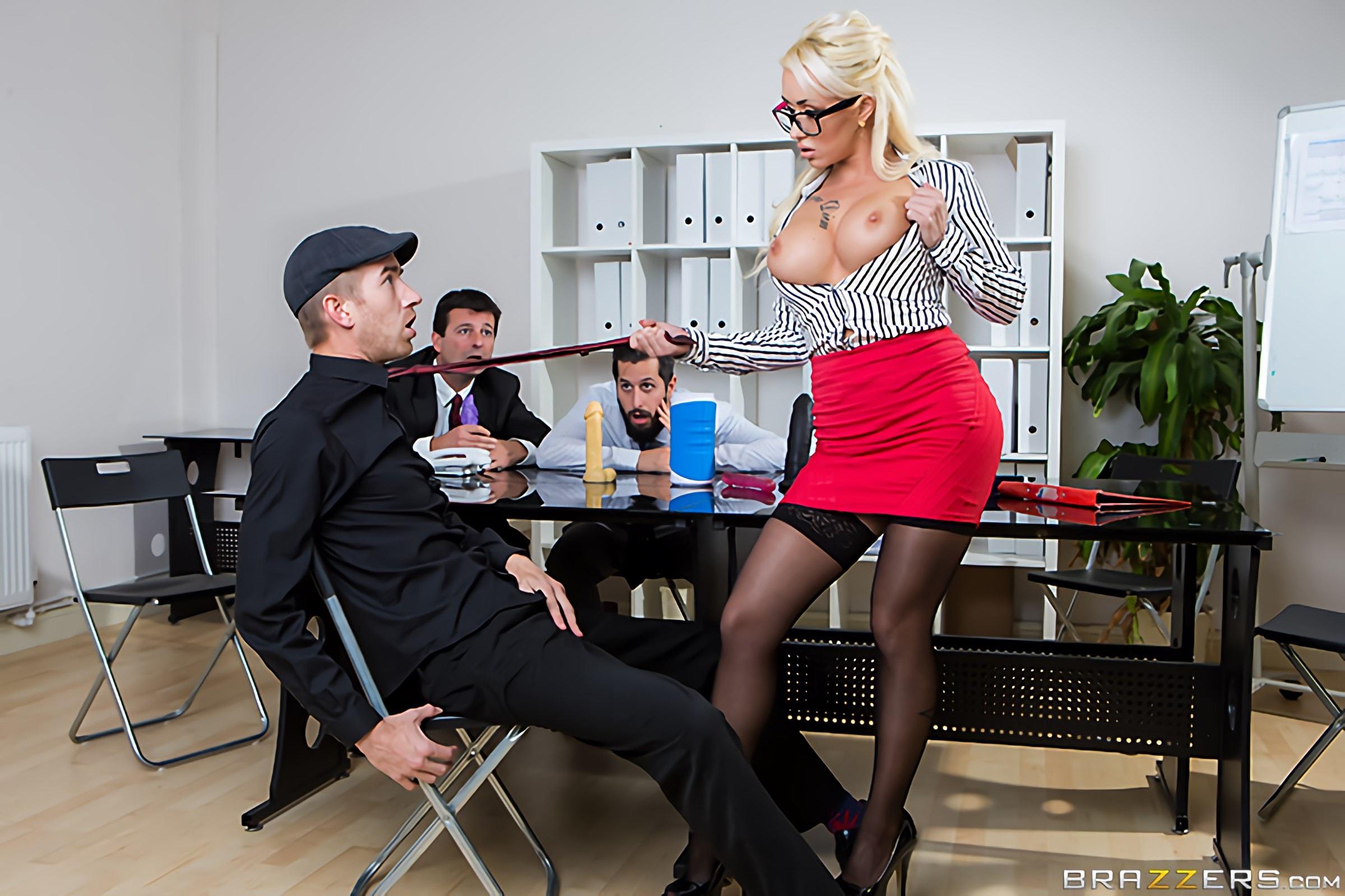 Brazzers 'Sales Pitch' starring Christina Shine (Photo 11)
