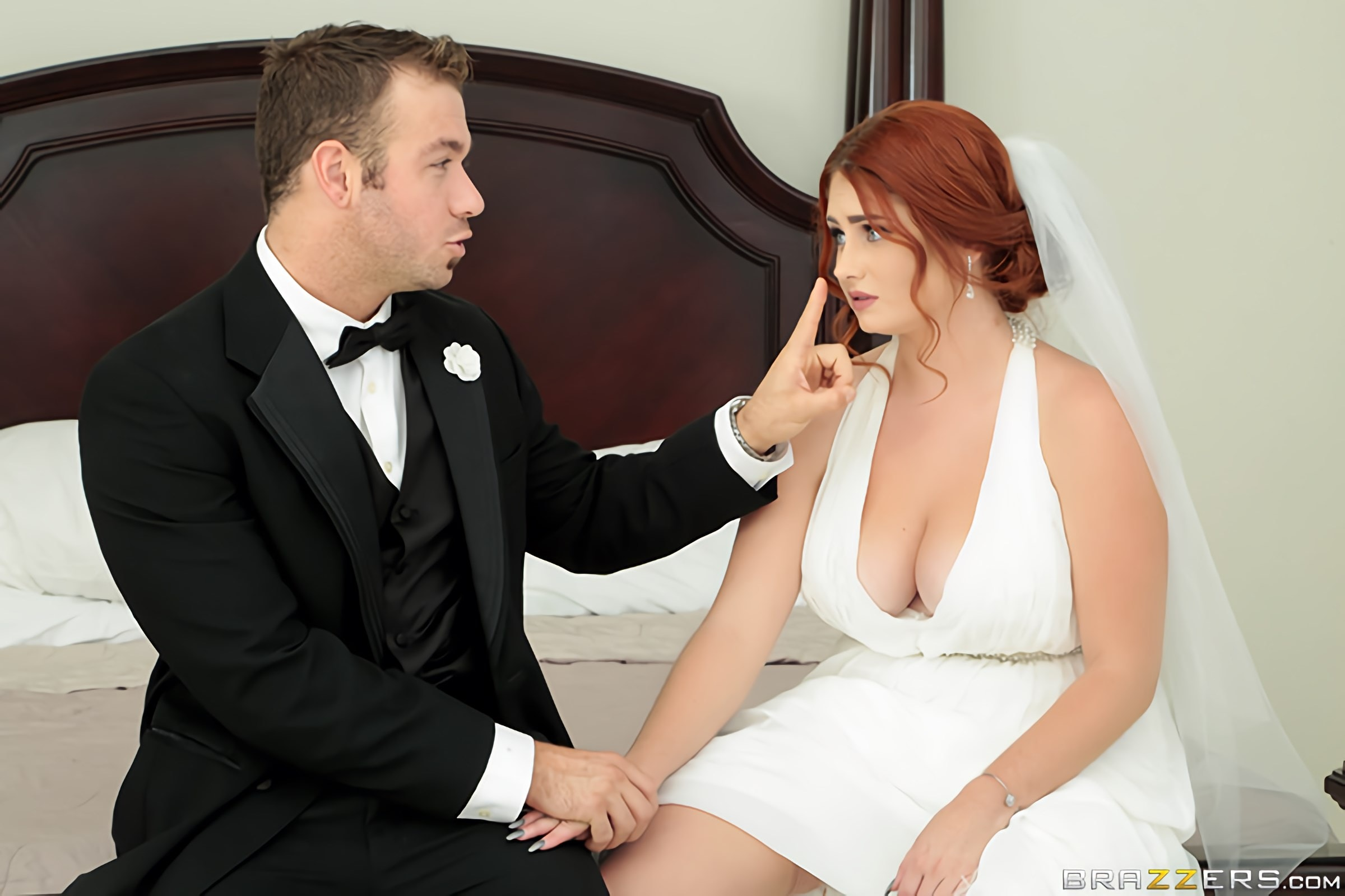 Brazzers 'Dirty Bride' starring Lennox Luxe (Photo 1)