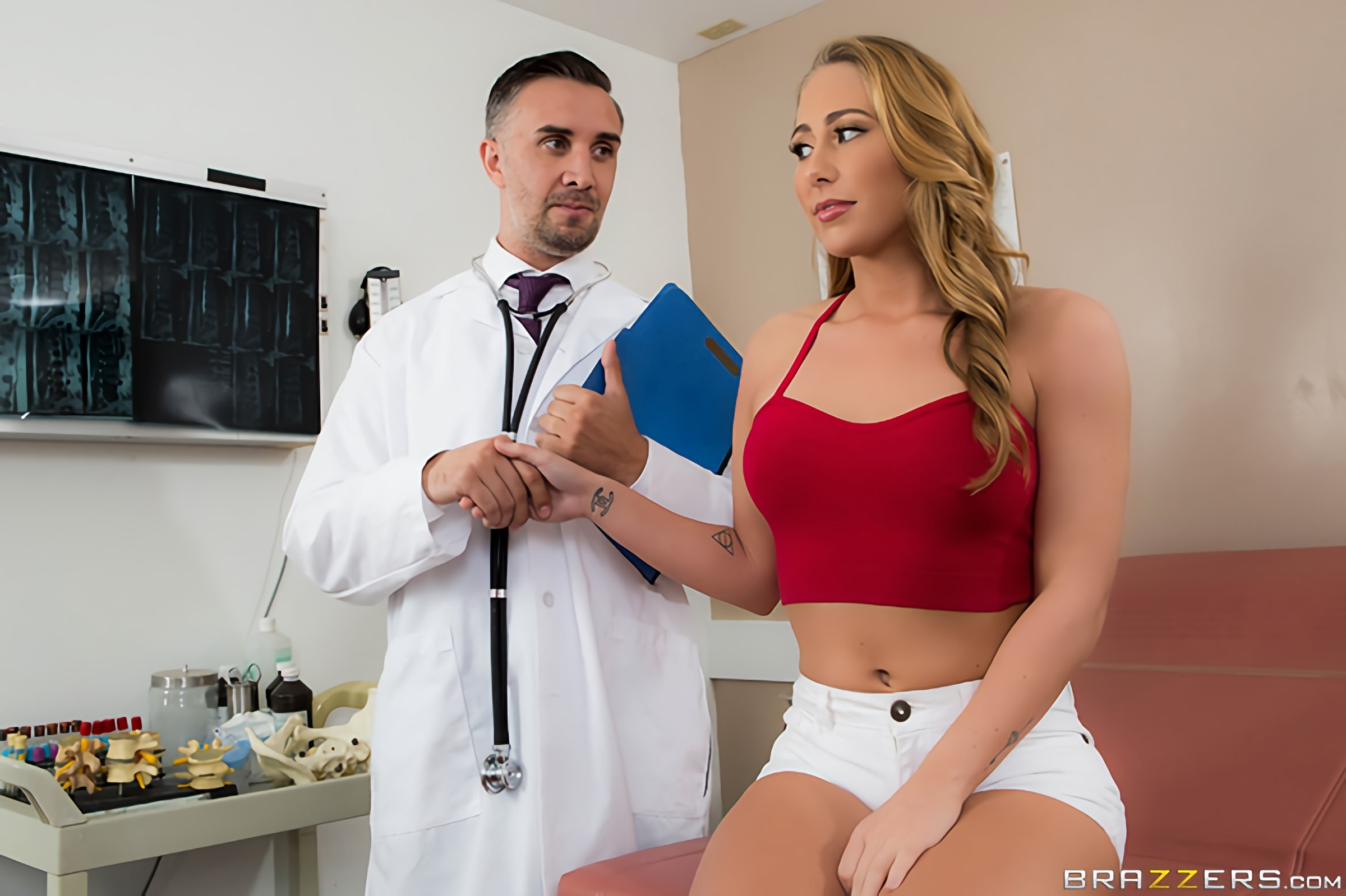 Brazzers 'The Placebo' starring Carter Cruise (Photo 1)