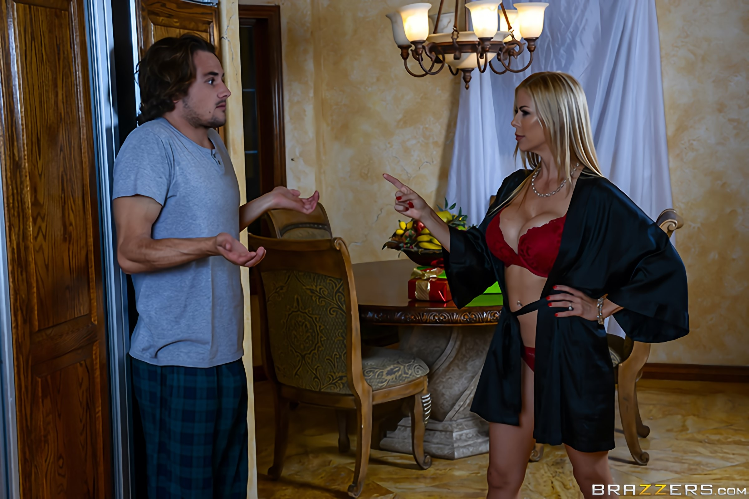 Brazzers 'A Brazzers Christmas Special - Part 1' starring Alexis Fawx (Photo 14)