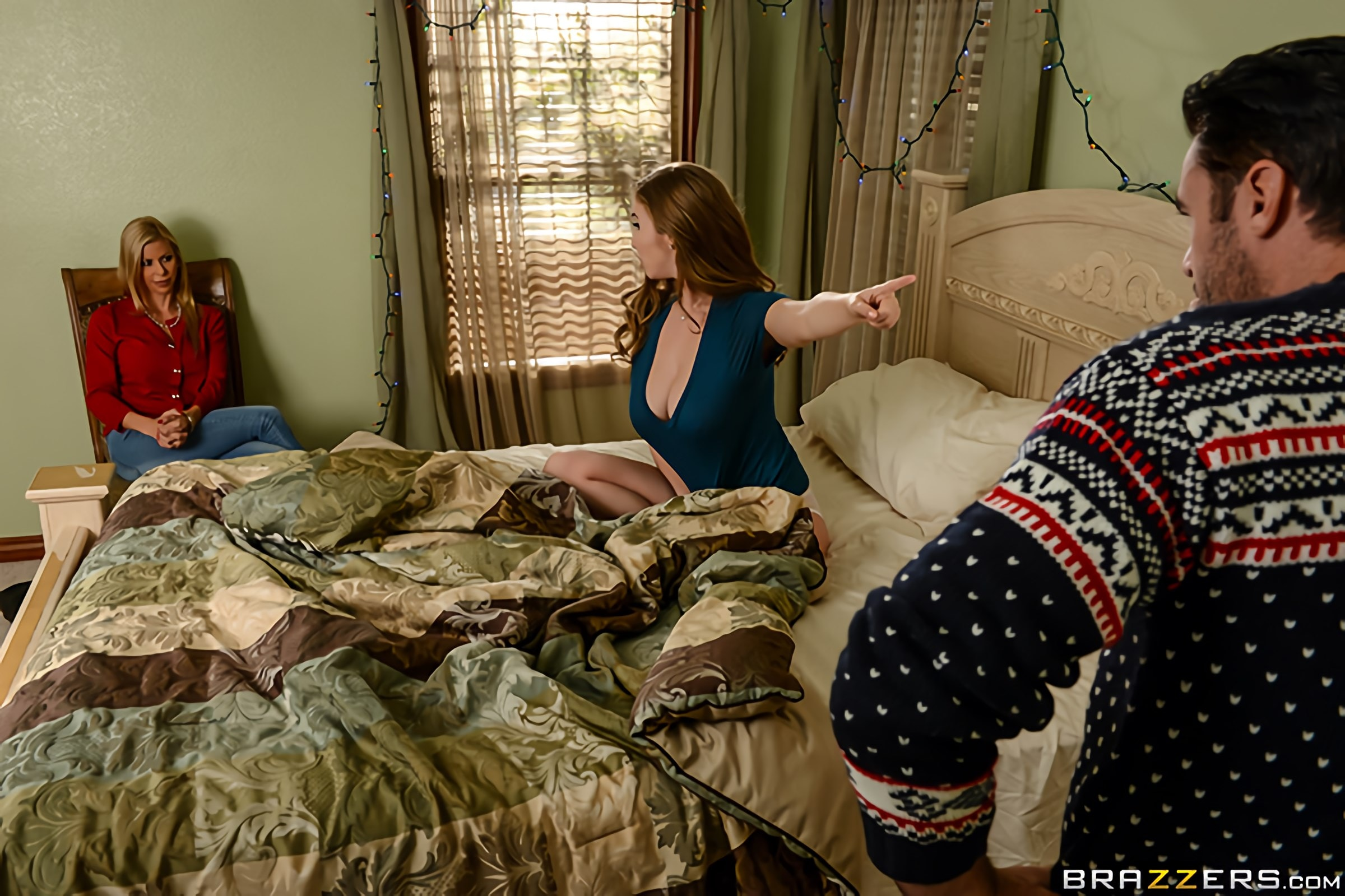 Brazzers 'A Brazzers Christmas Special - Part 4' starring Alexis Fawx (Photo 6)