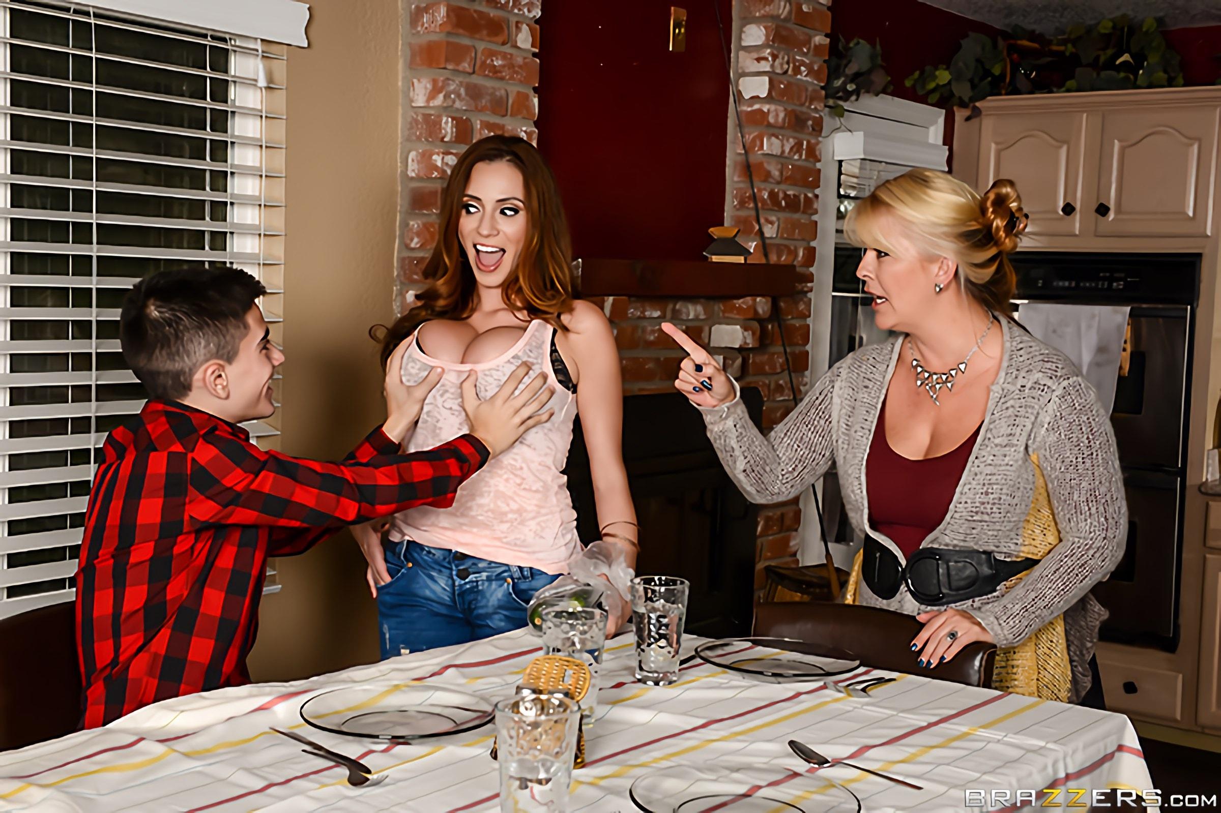 Brazzers 'Homemade American Tits' starring Ariella Ferrera (Photo 1)