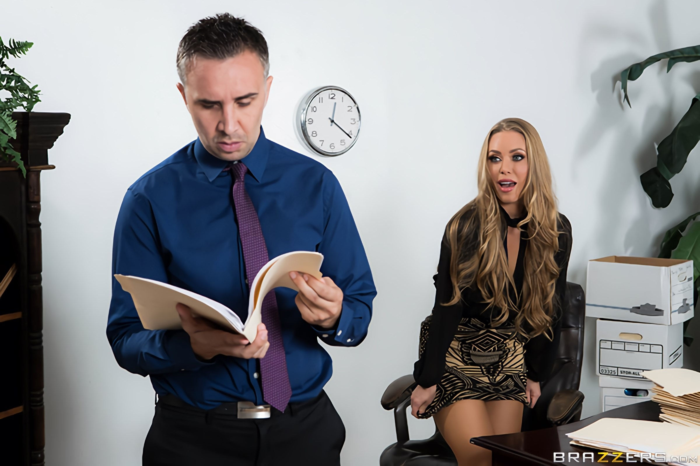 Brazzers 'Team Player' starring Nicole Aniston (Photo 1)