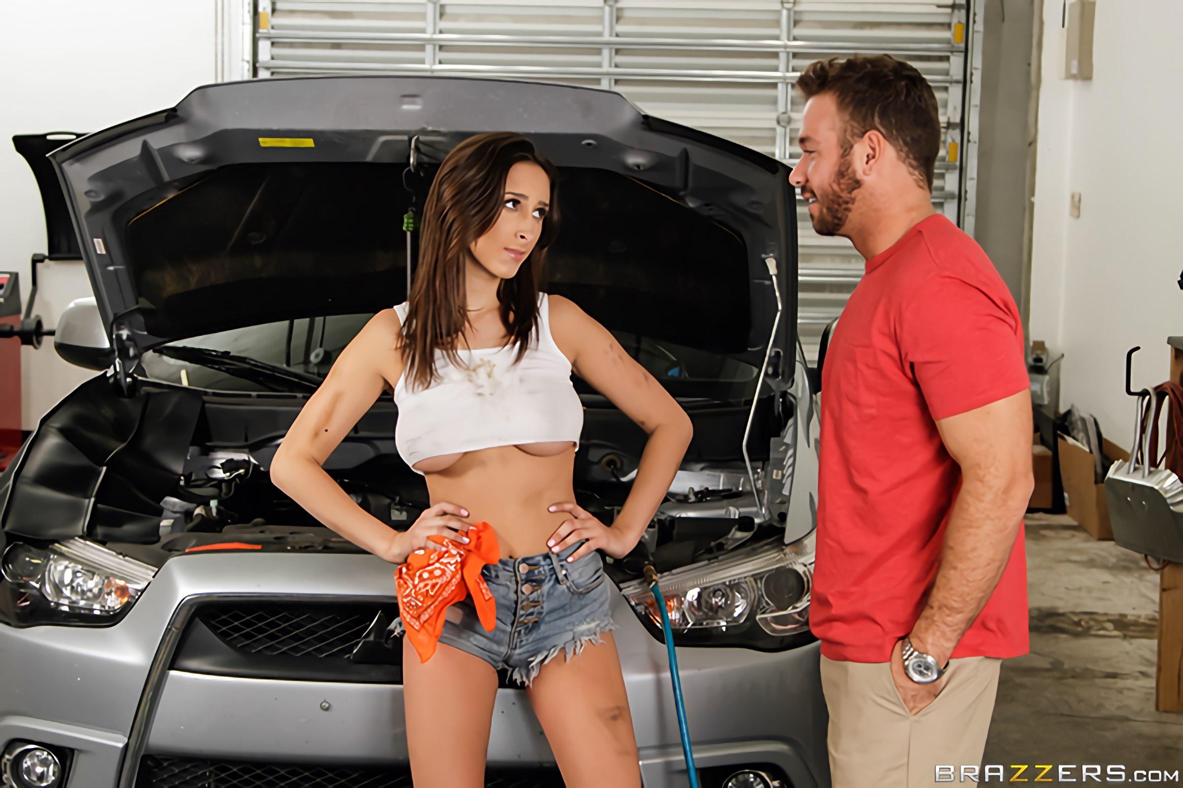 Brazzers 'The Mechanic' starring Ashley Adams (Photo 1)