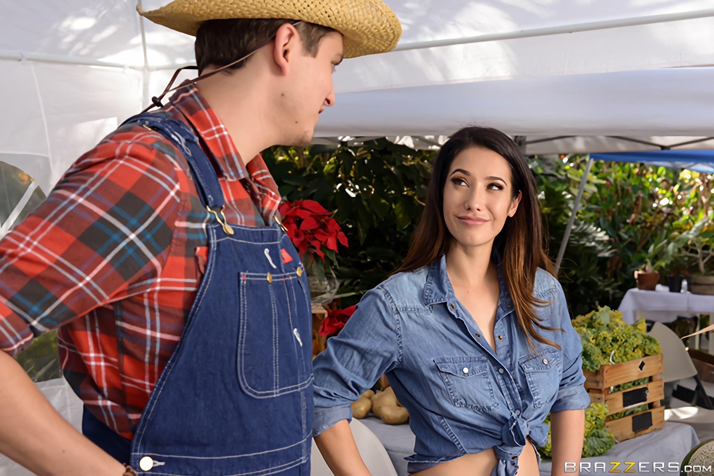 Brazzers 'The Farmers Wife' starring Eva Lovia (Photo 1)