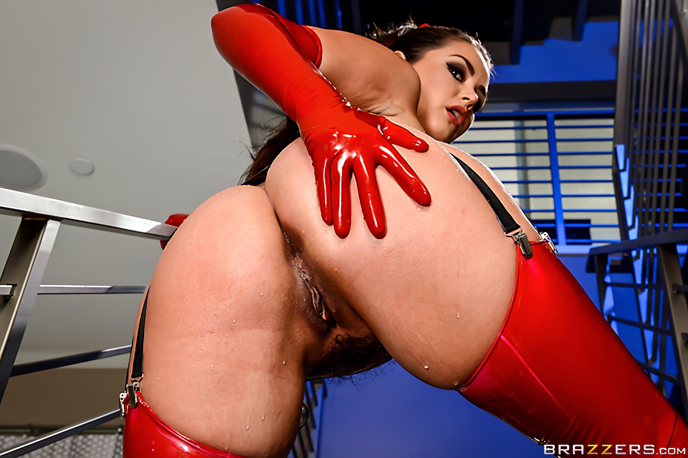 Brazzers 'Latex Lust' starring Allie Haze (Photo 8)