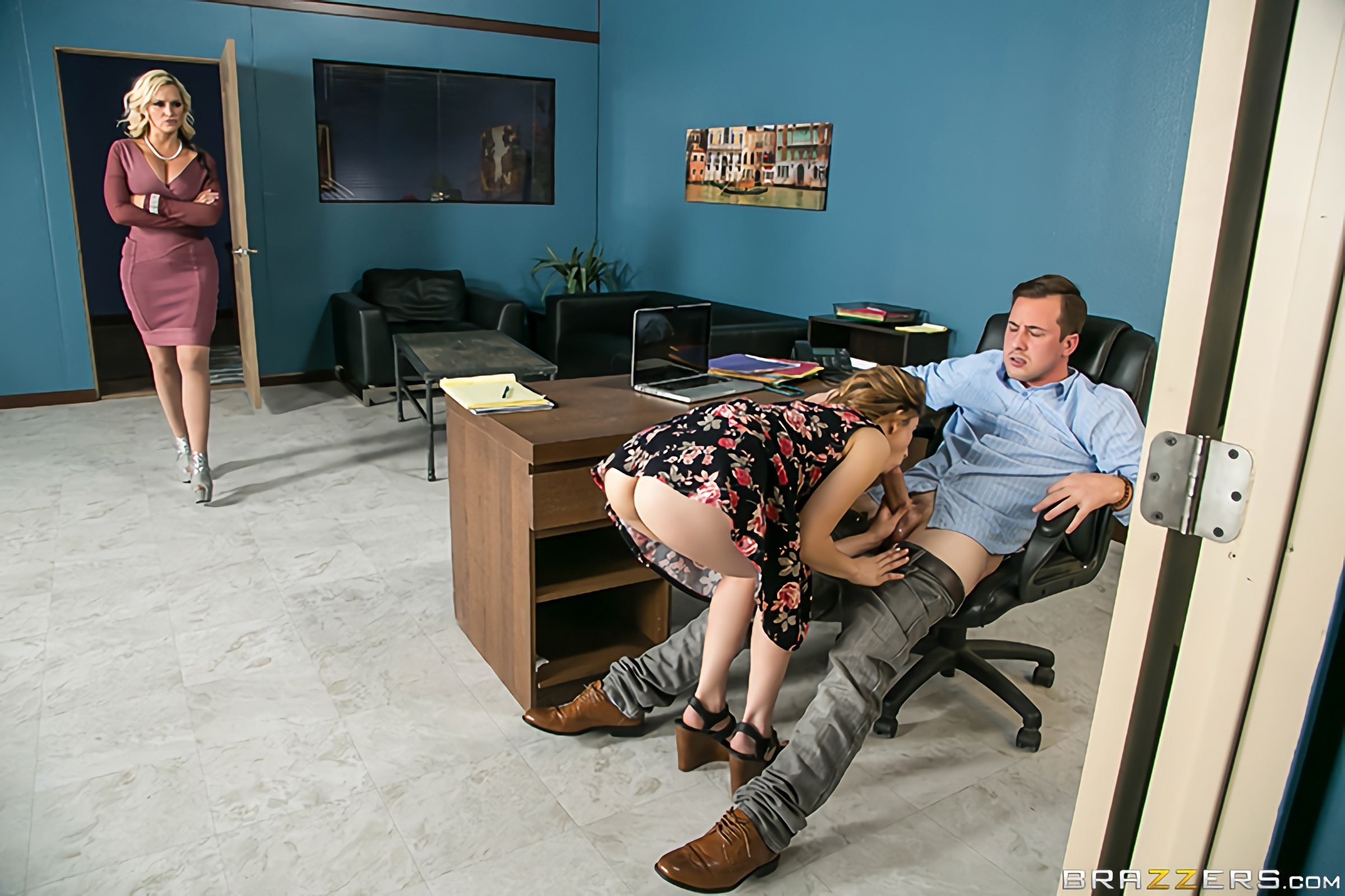 Brazzers 'Doing The Dirty Work' starring Alena Croft (Photo 2)