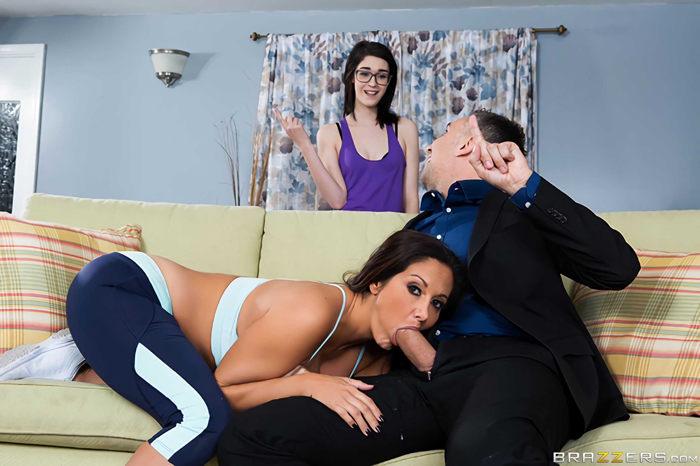 Brazzers 'Stay Away From My Daughter- Part 2' starring Ava Addams (Photo 2)
