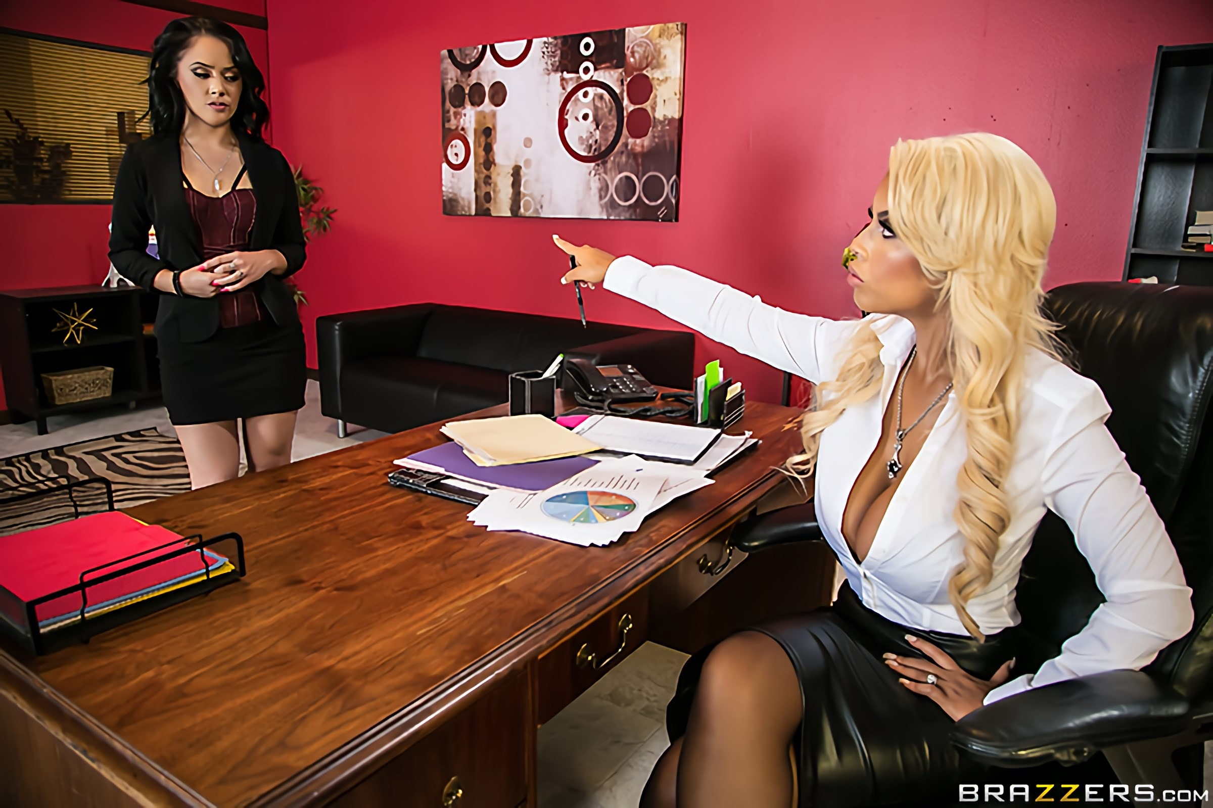 Brazzers 'Dominative Assistant' starring Kristina Rose (Photo 1)