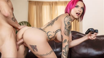 Anna Bell Peaks in 'Putting Her Feet Up'