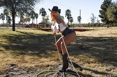 Nicolette Shea - Cock Hungry Cowgirl (Thumb 01)