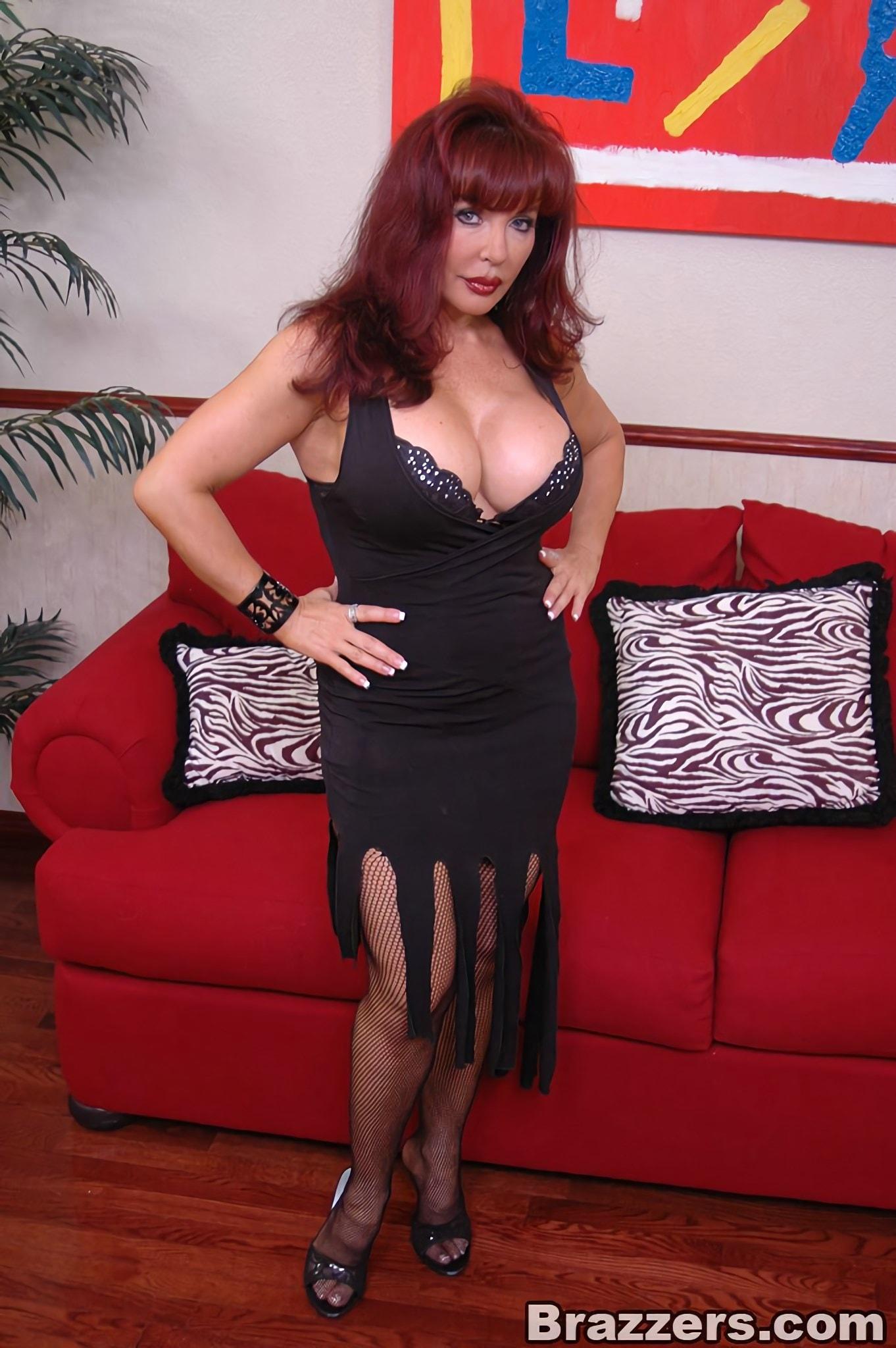 Brazzers 'Hot Busty Milf Nymph Vanessa' starring Sexy Vanessa (Photo 1)