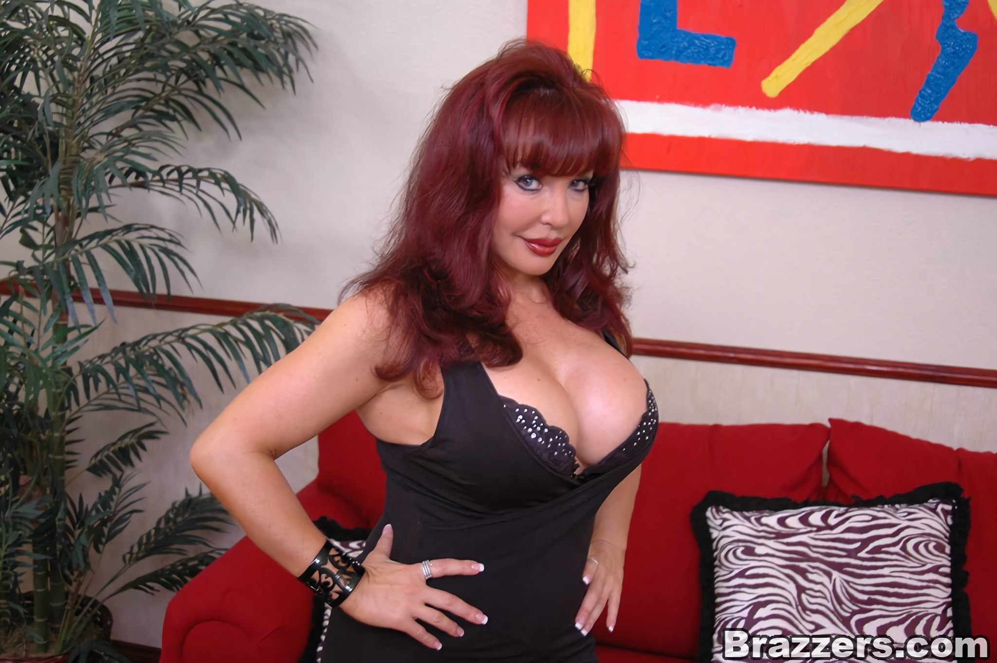 Brazzers 'Hot Busty Milf Nymph Vanessa' starring Sexy Vanessa (Photo 2)