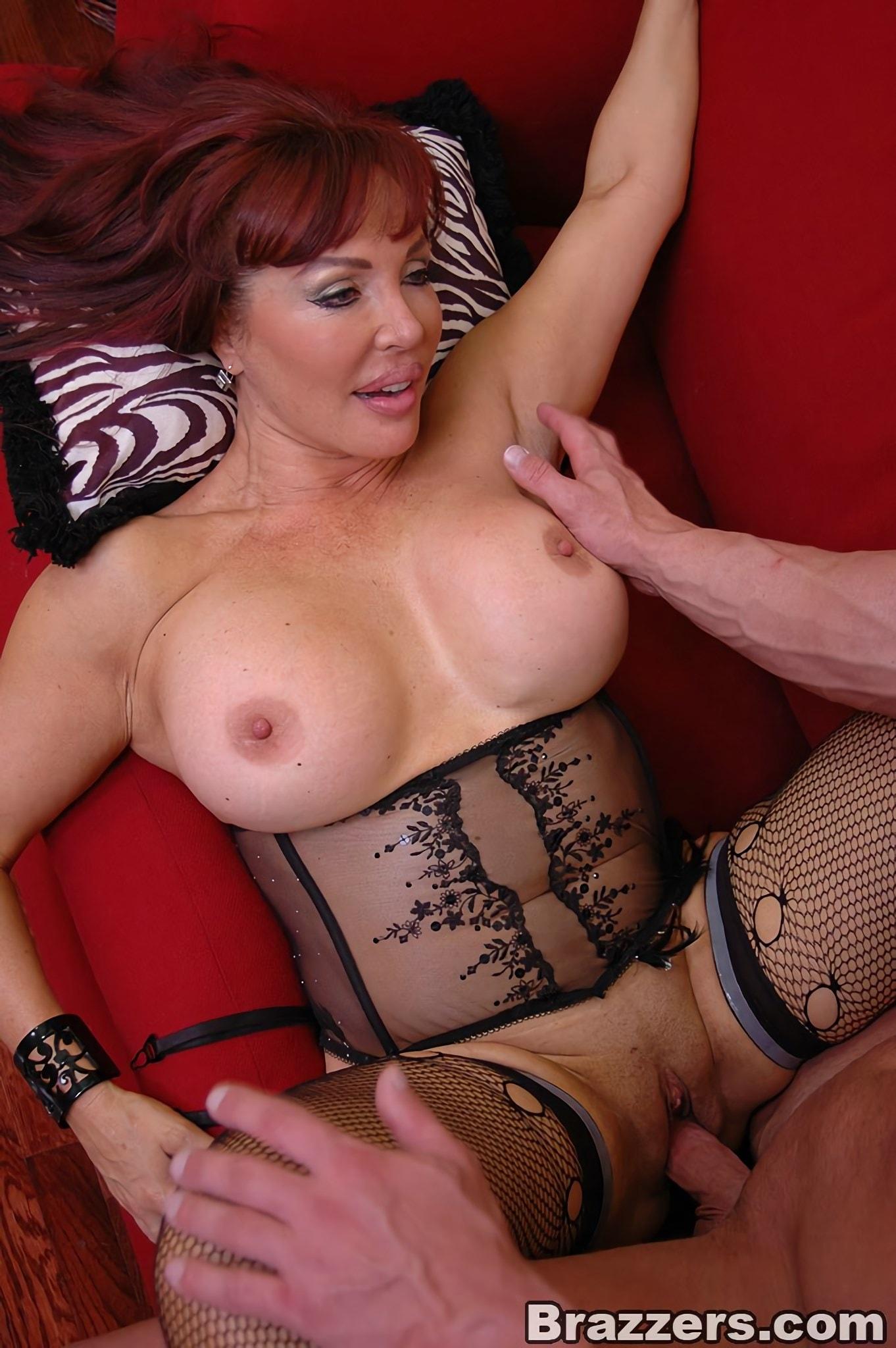 Brazzers 'Hot Busty Milf Nymph Vanessa' starring Sexy Vanessa (Photo 11)