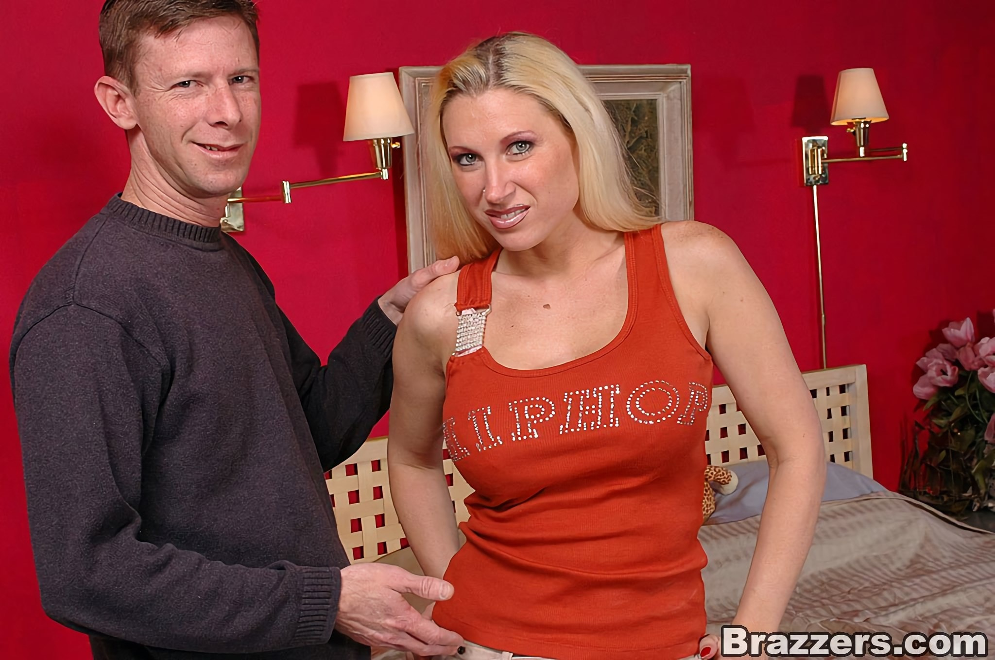 Brazzers 'Natural Busty Mommy Back For More!' starring Devon Lee (Photo 1)