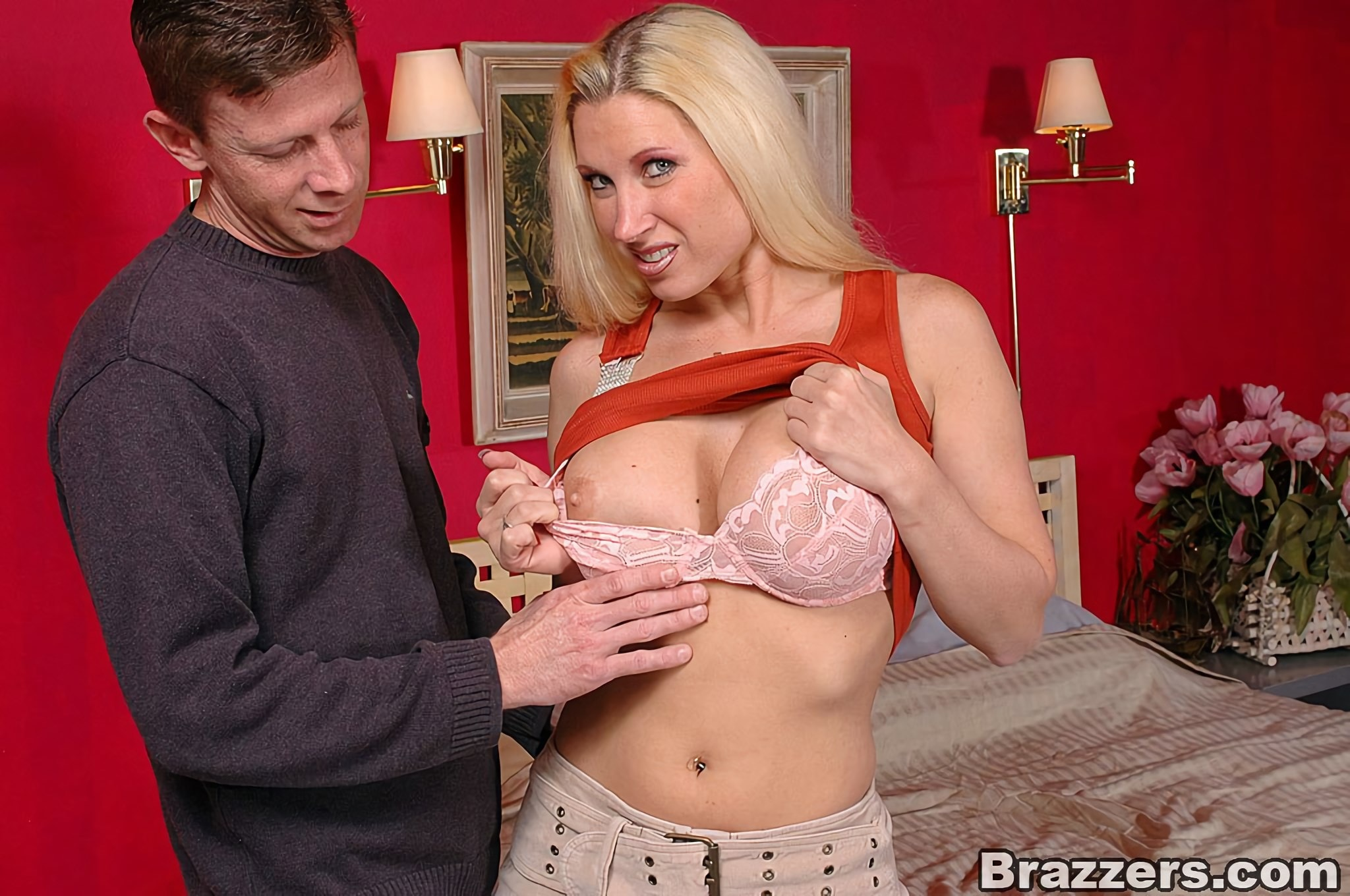 Brazzers 'Natural Busty Mommy Back For More!' starring Devon Lee (Photo 2)