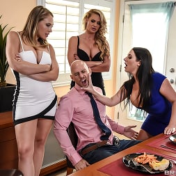 Angela White in 'Brazzers' Dinner For Cheats (Thumbnail 1)