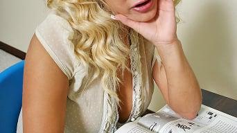 Shyla Stylez in 'Tough Choice'