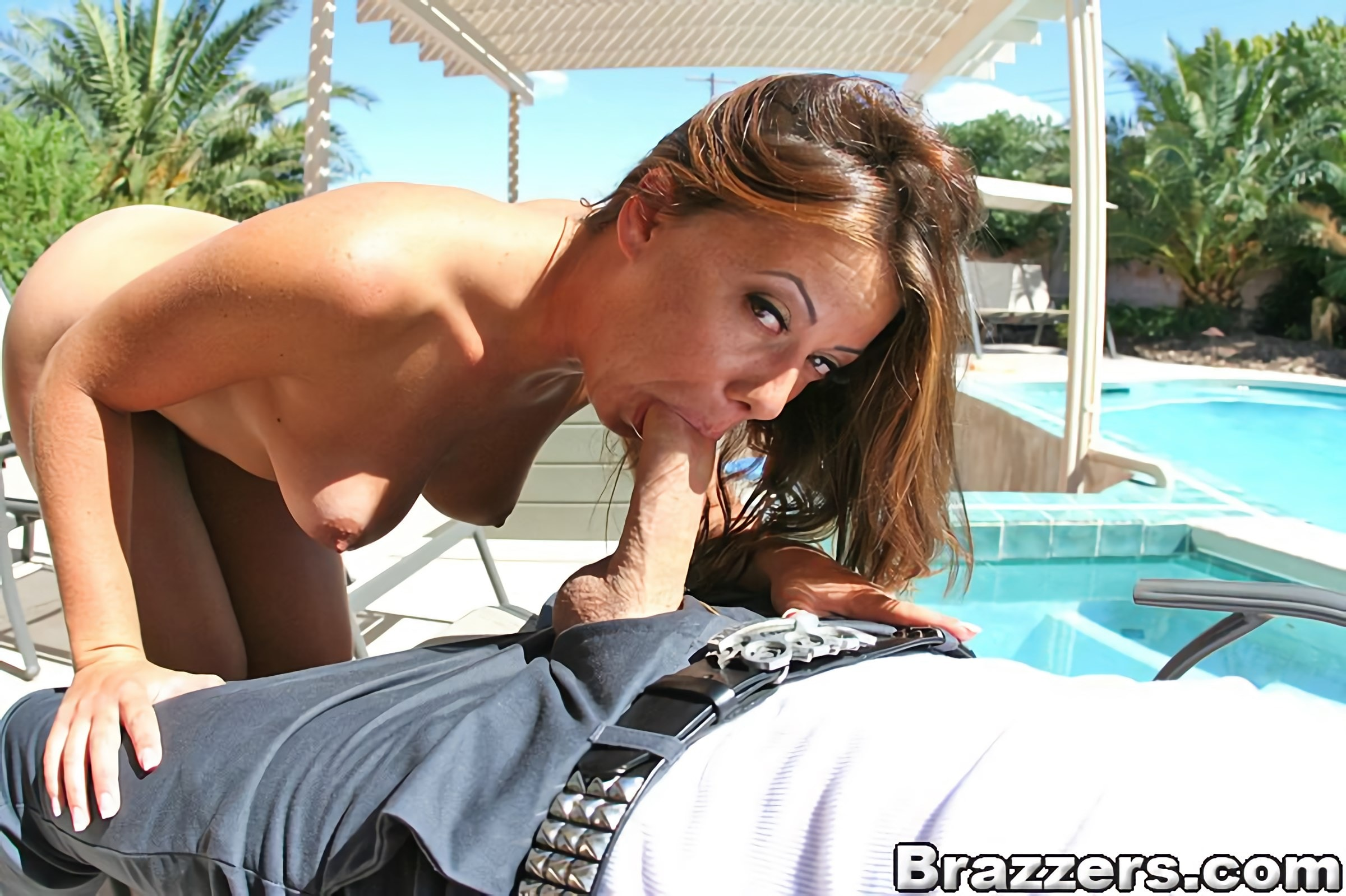 Brazzers 'Cock Block Sun Screen' starring Penny Flame (photo 7)