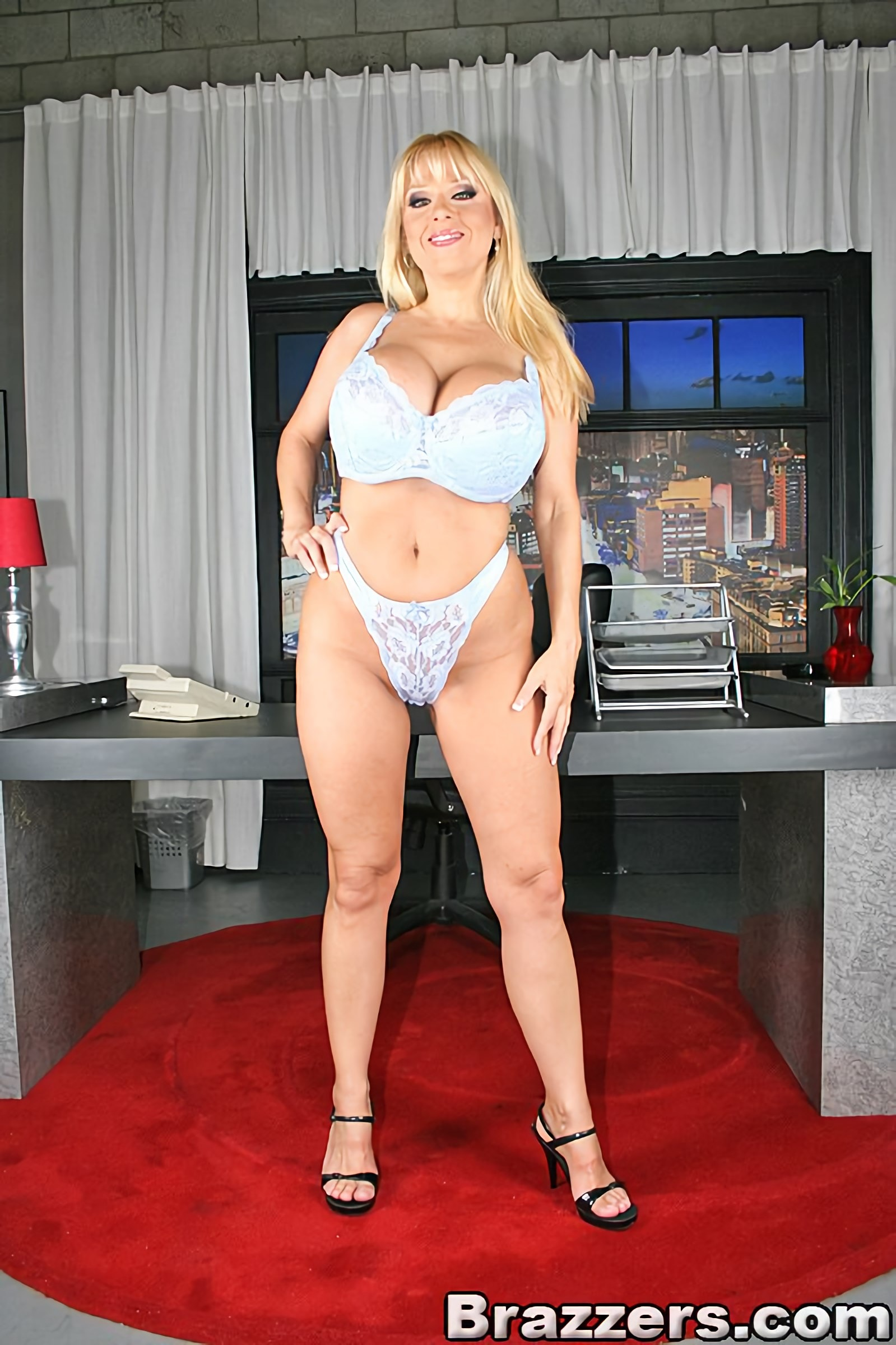 Big Tits At Work Harmony Bliss 8